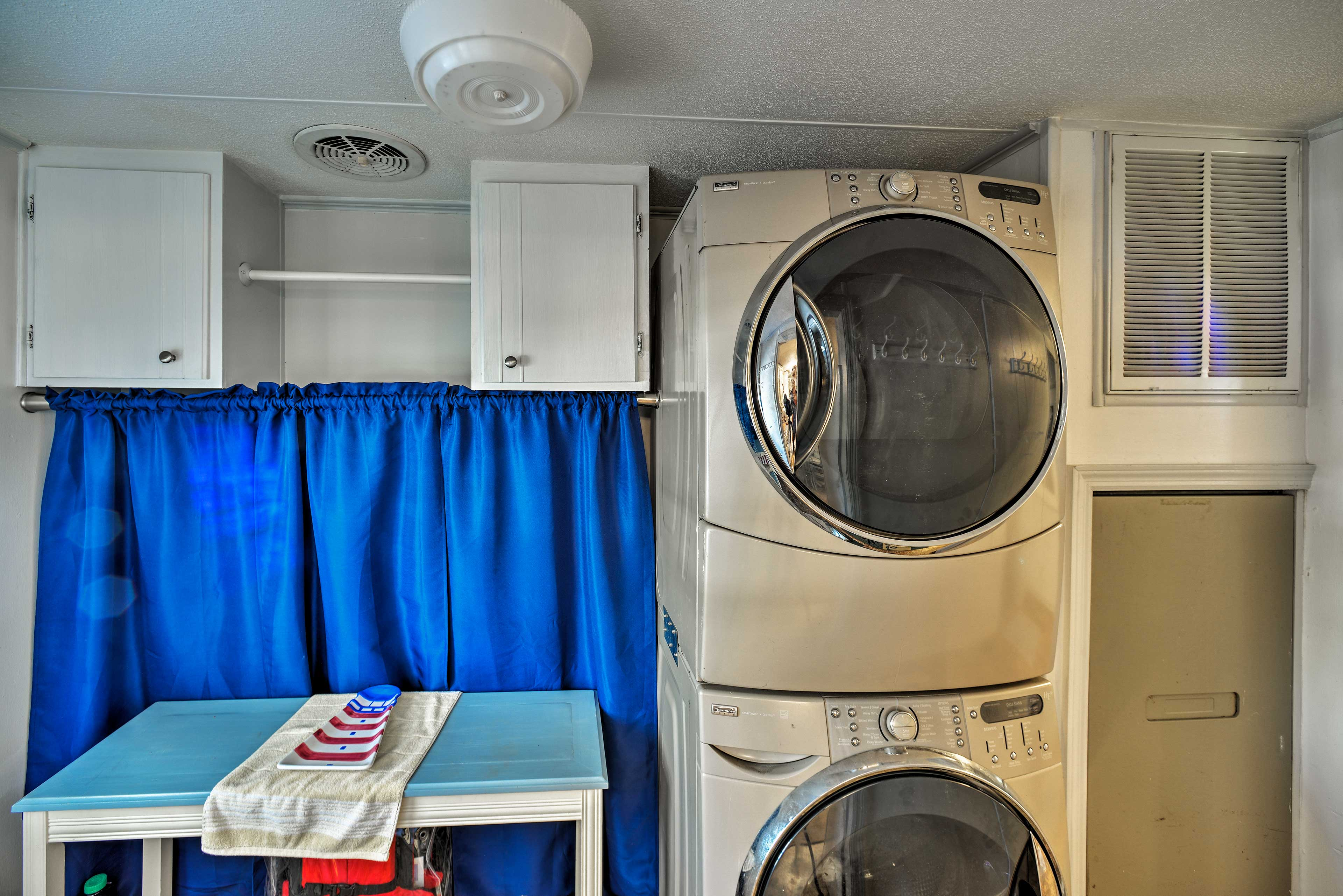 The property features all the comforts and amenities of home.