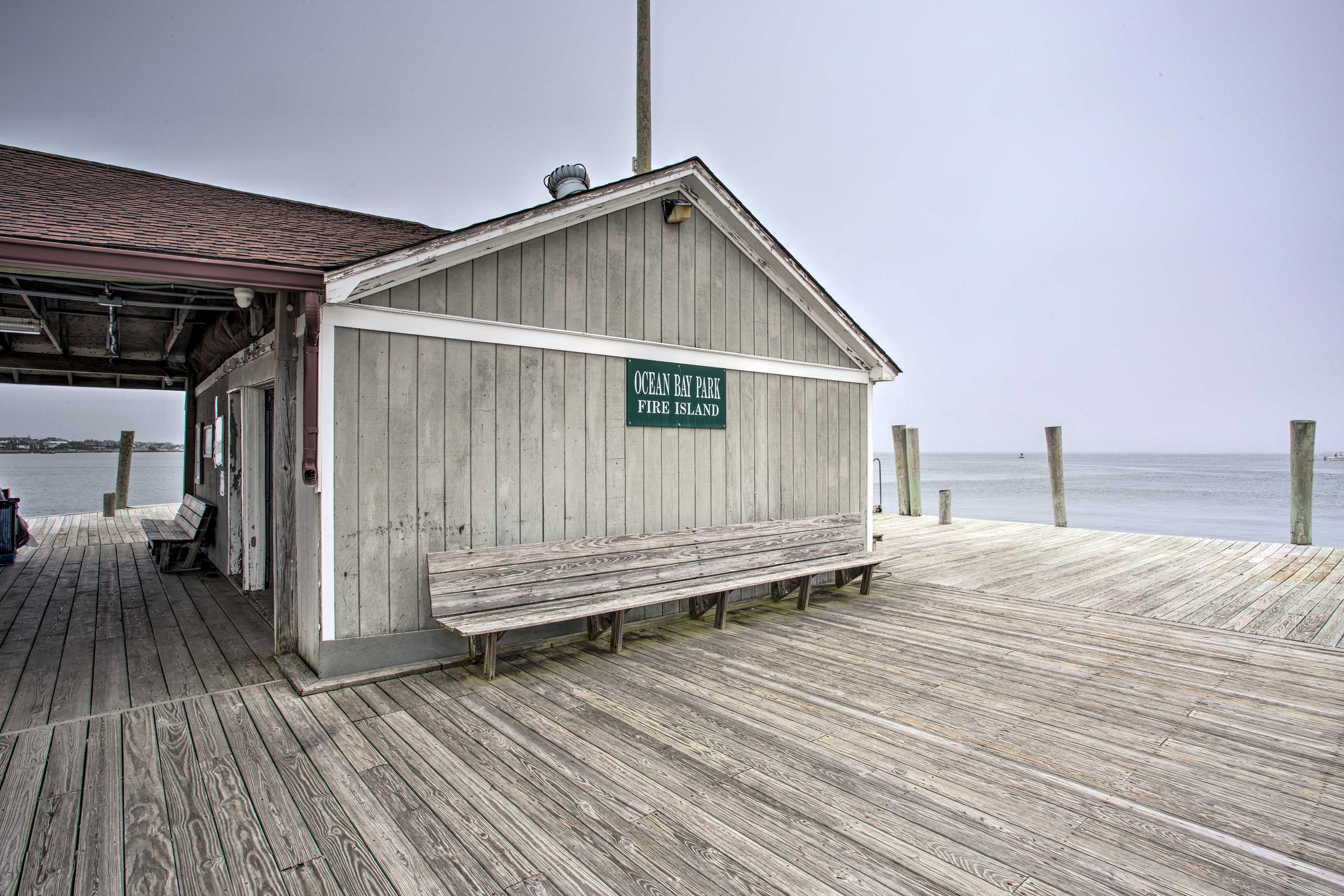 Ocean Bay Park is not far away!