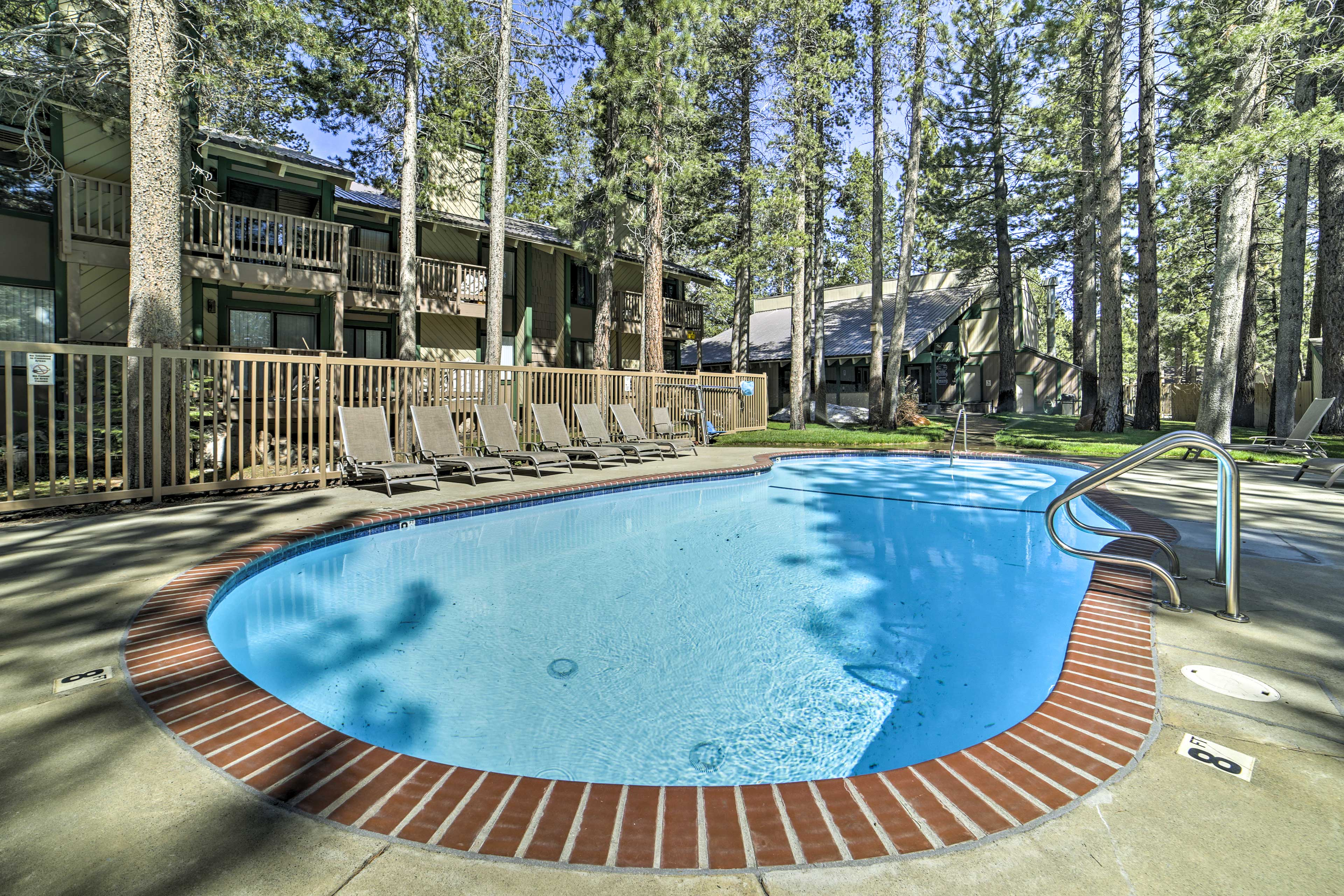 Escape to Mammoth Lakes at this vacation rental condo!