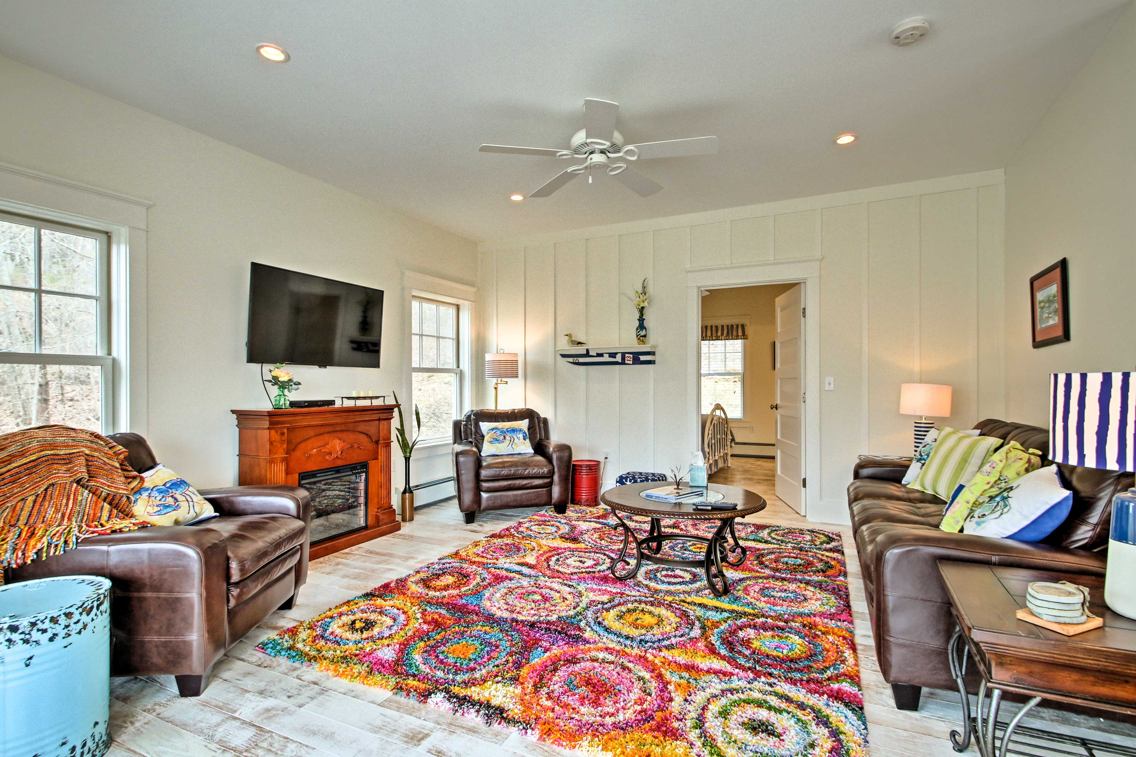 Runaway to Boothbay Harbor at this vacation rental home!