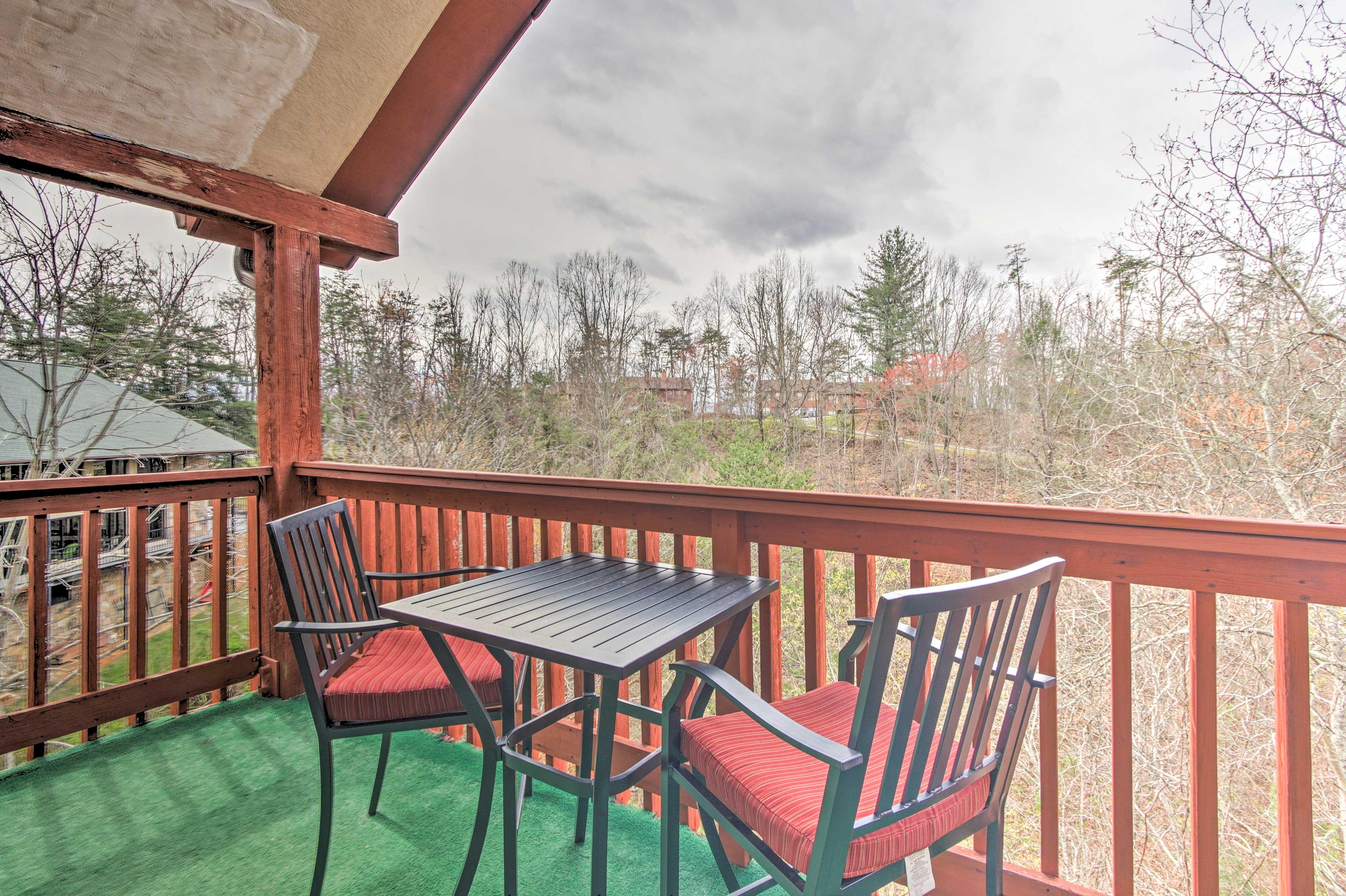 Boasting 2 balconies, this home ensures incredible views!