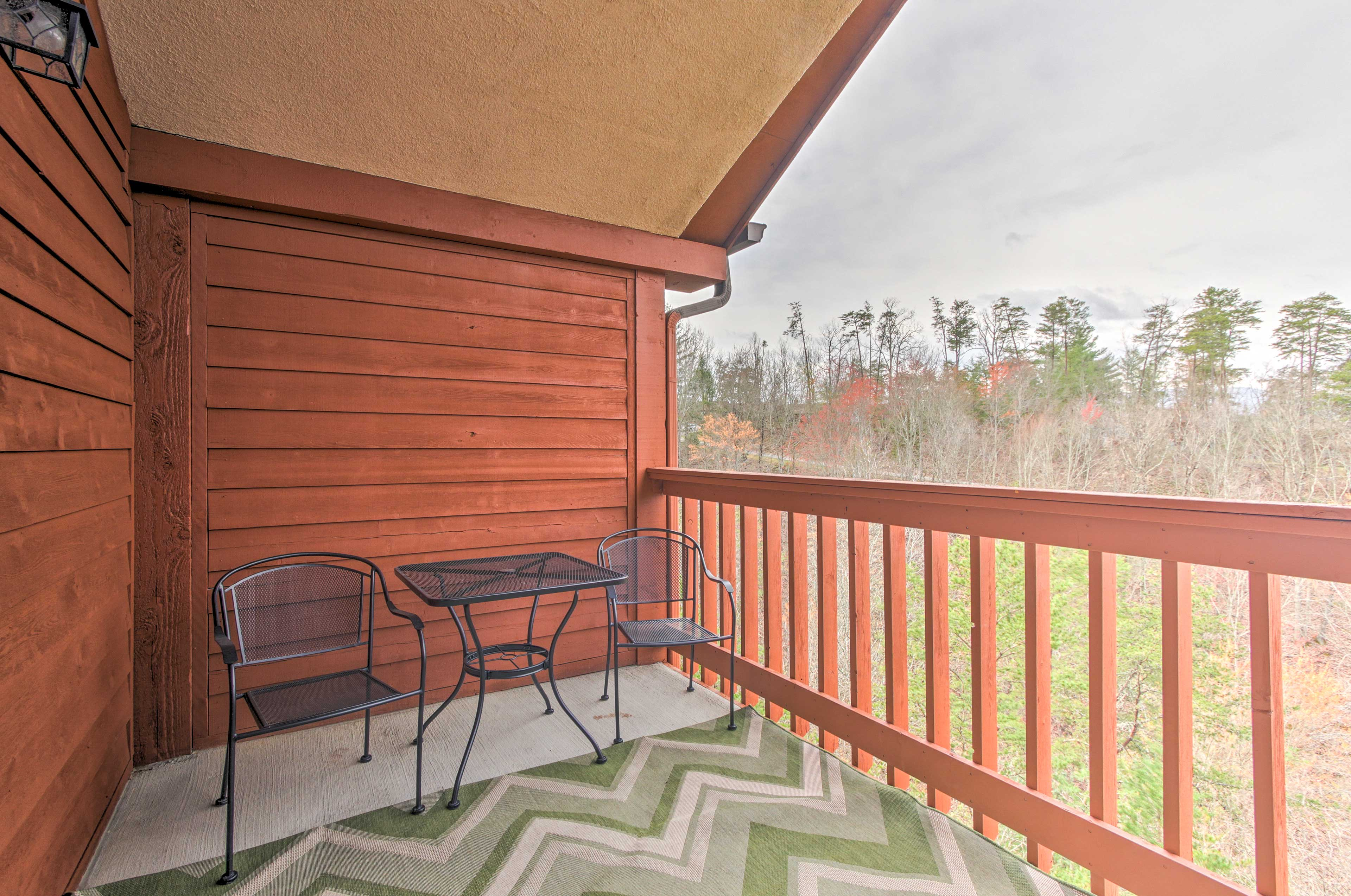 With 2 balconies, you'll never run out of space to enjoy the views.