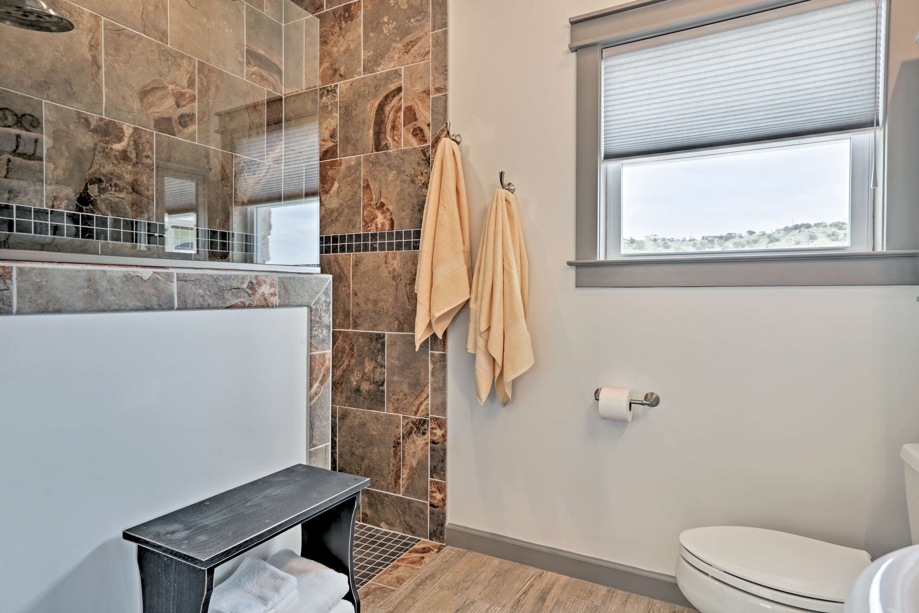 Enjoy the added luxury of a full en-suite bathroom.
