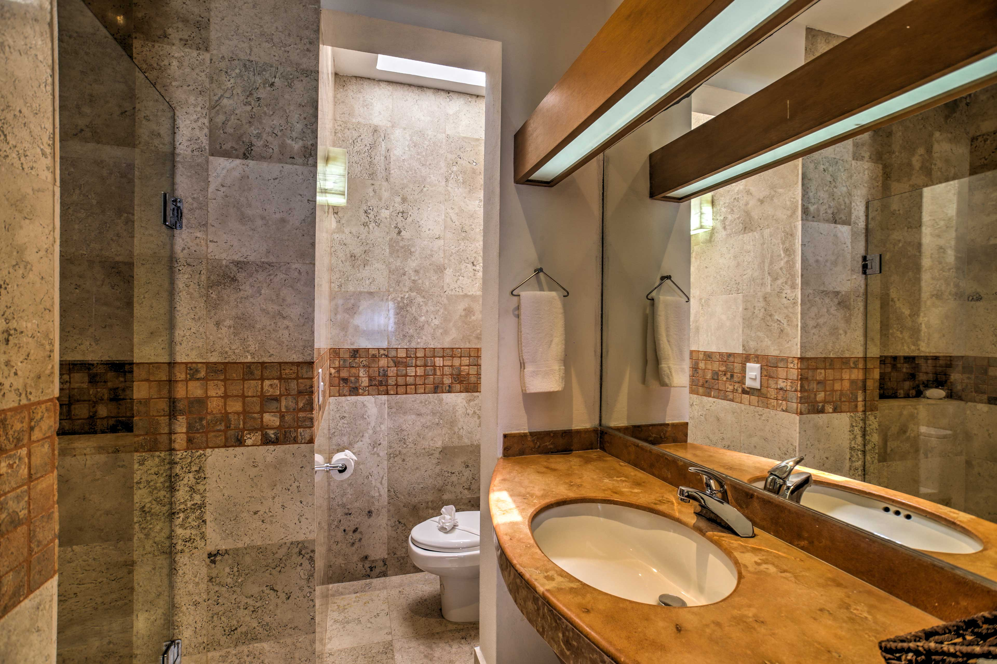 Each bathroom is a bit more beautiful than the last.