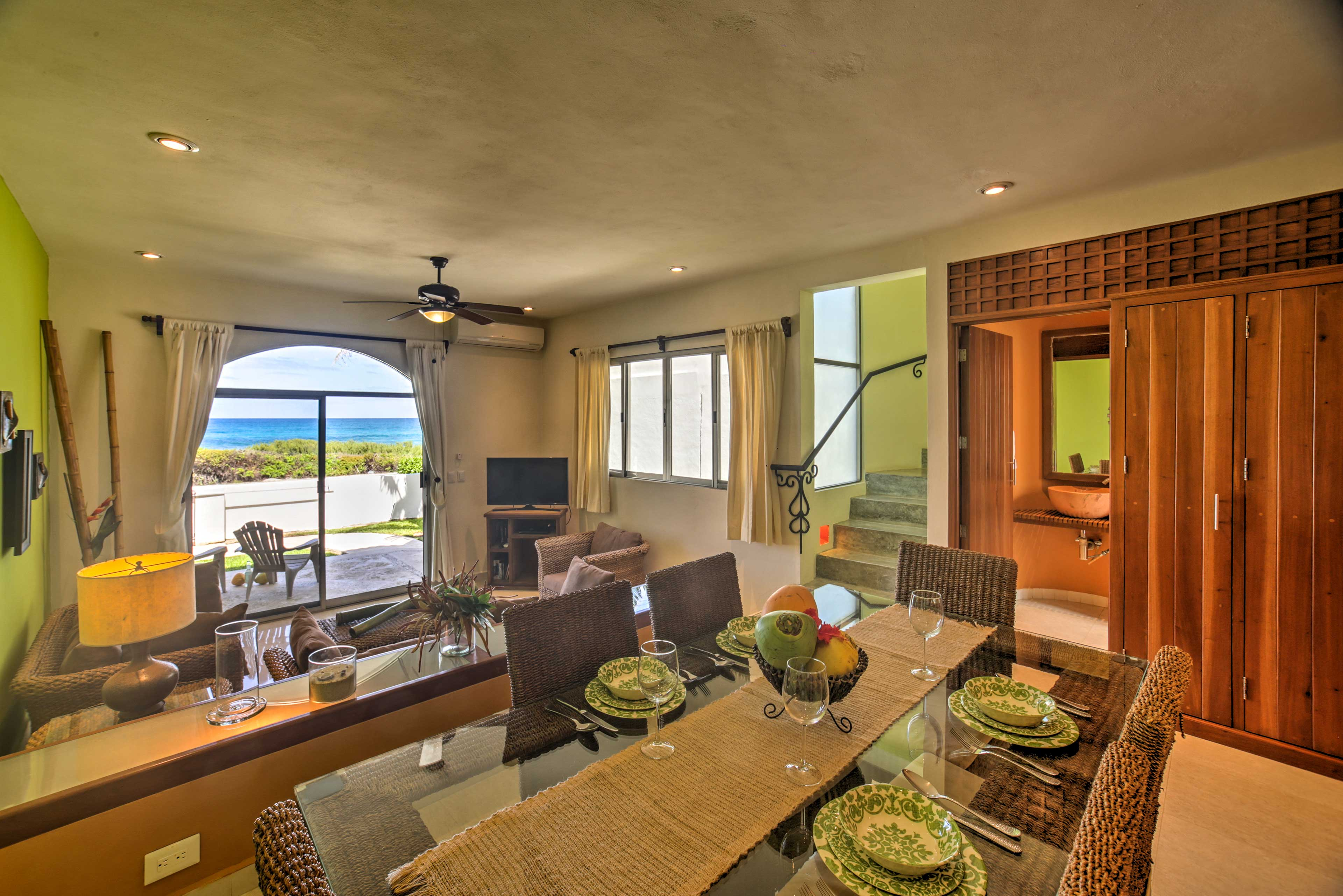 You'll love how much natural light the casitas get!