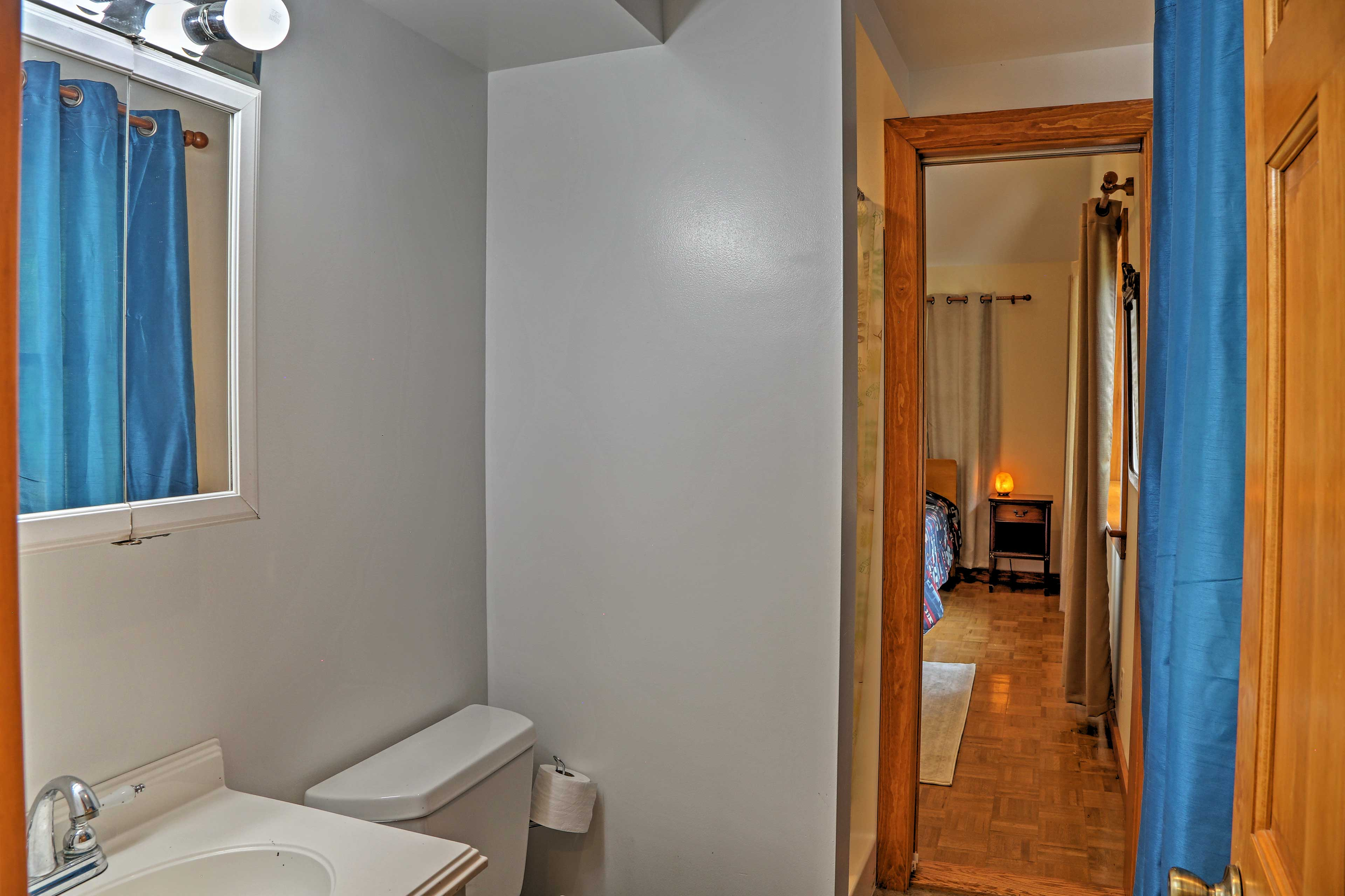 There are 3 full bathrooms throughout the home.