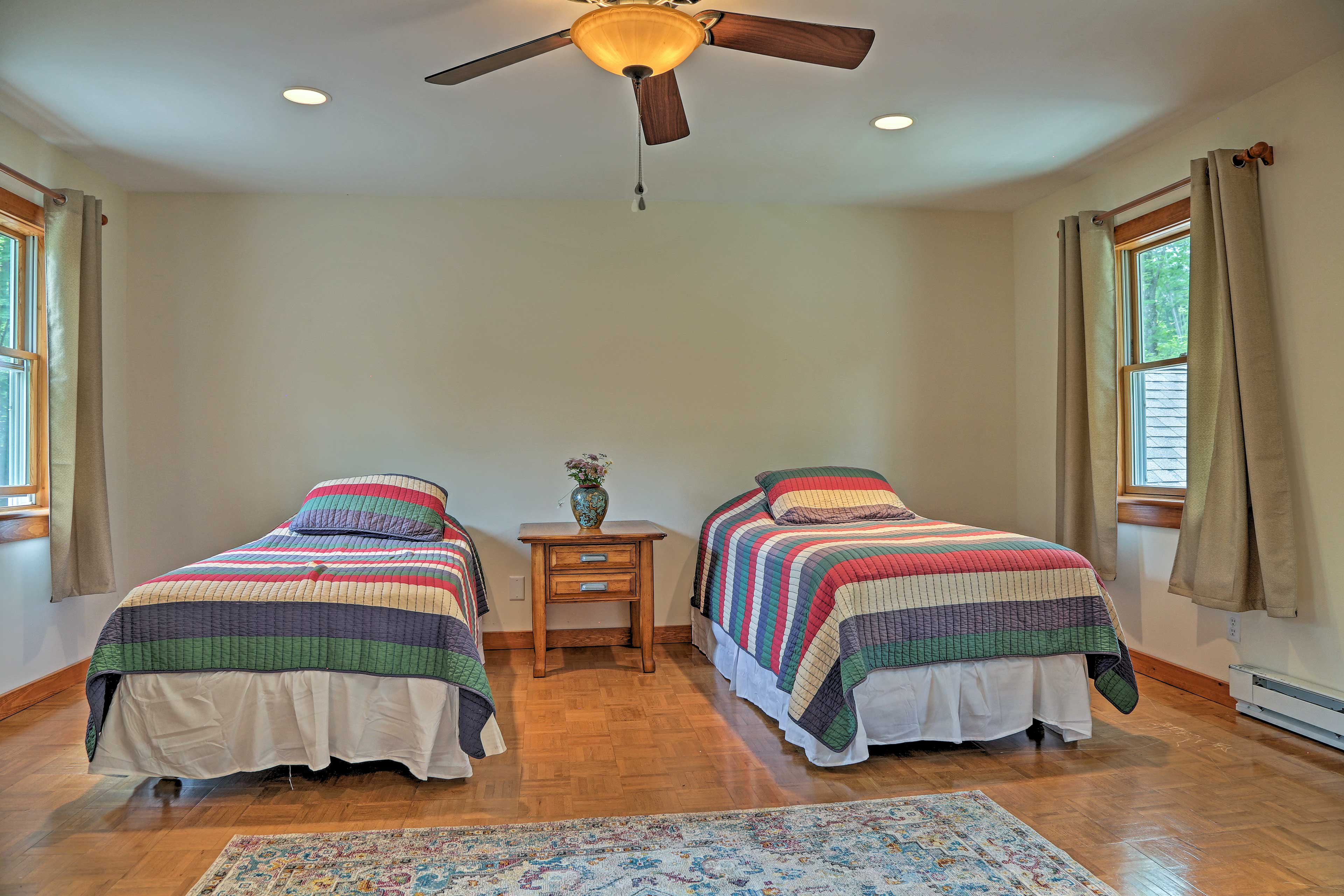 The kids will love sharing the third bedroom!