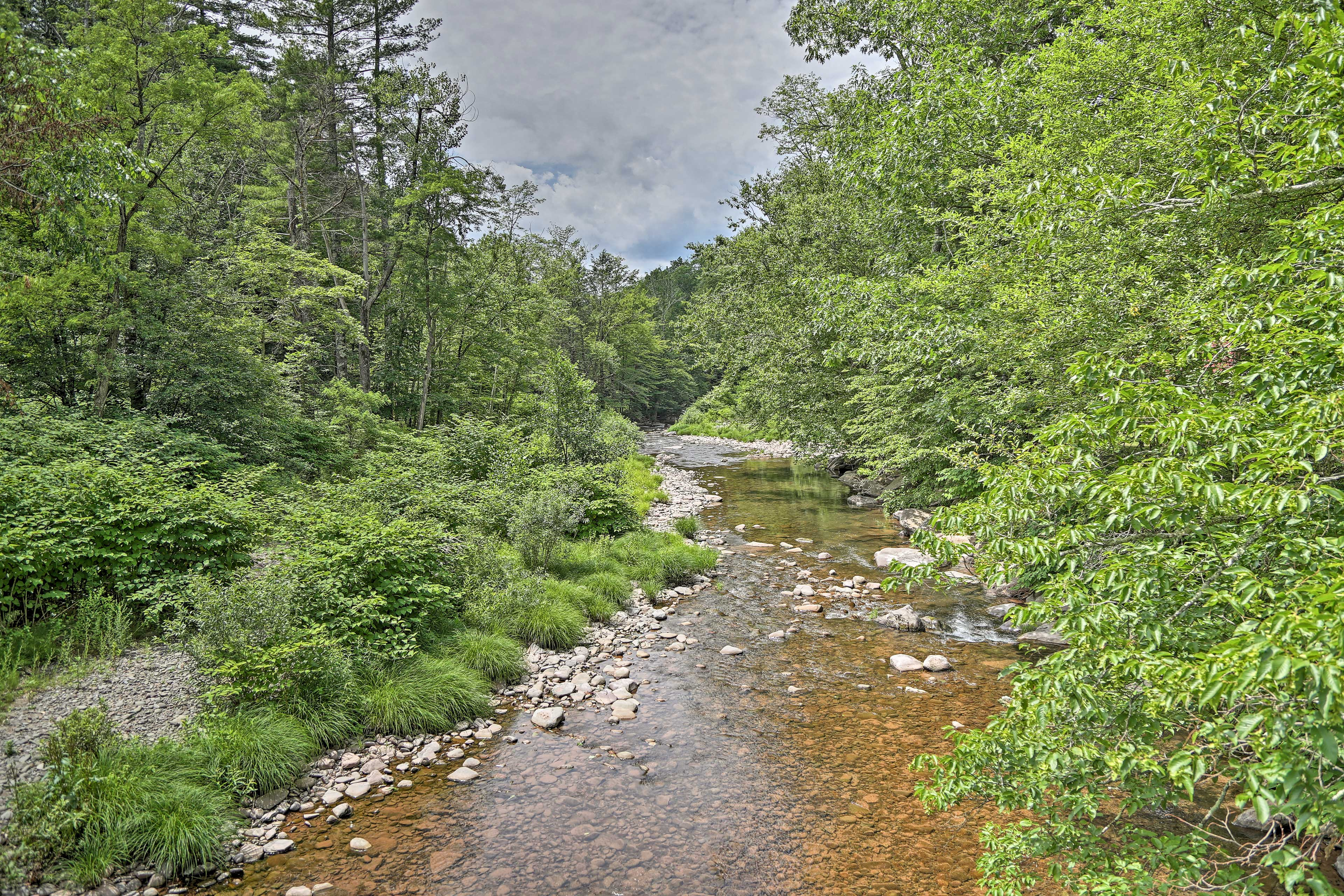 Stroll along the tranquil Stony Clove Creek to immerse yourself in nature.