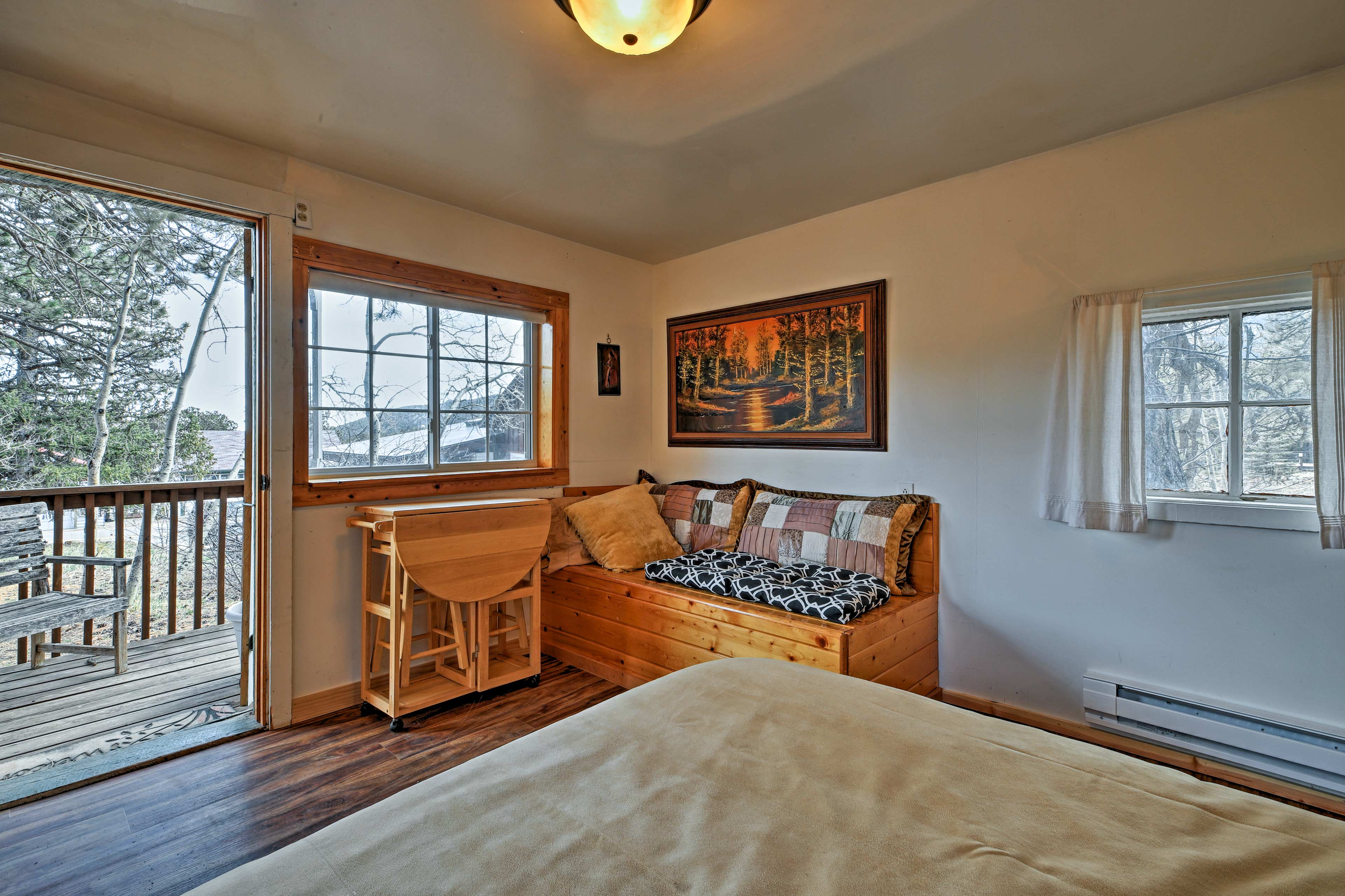 Wooded views accompany each room!