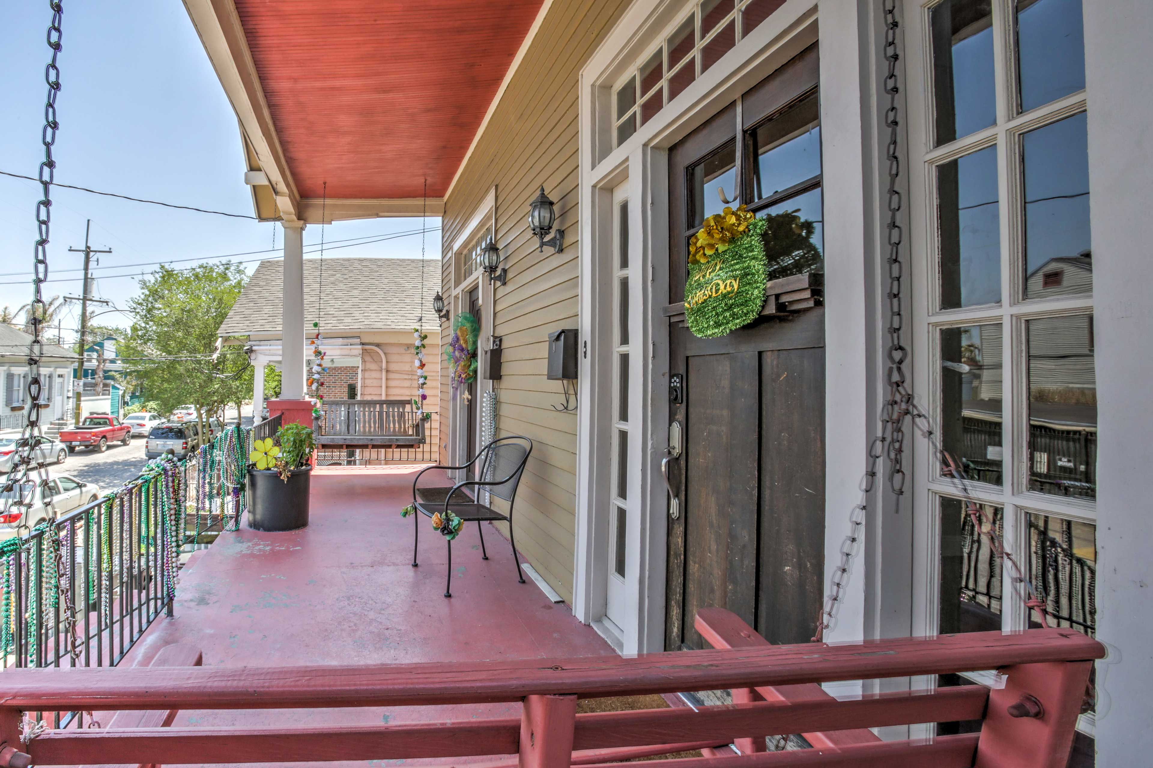Explore beautiful New Orleans from this 3-bedroom, 2-bath vacation rental house.