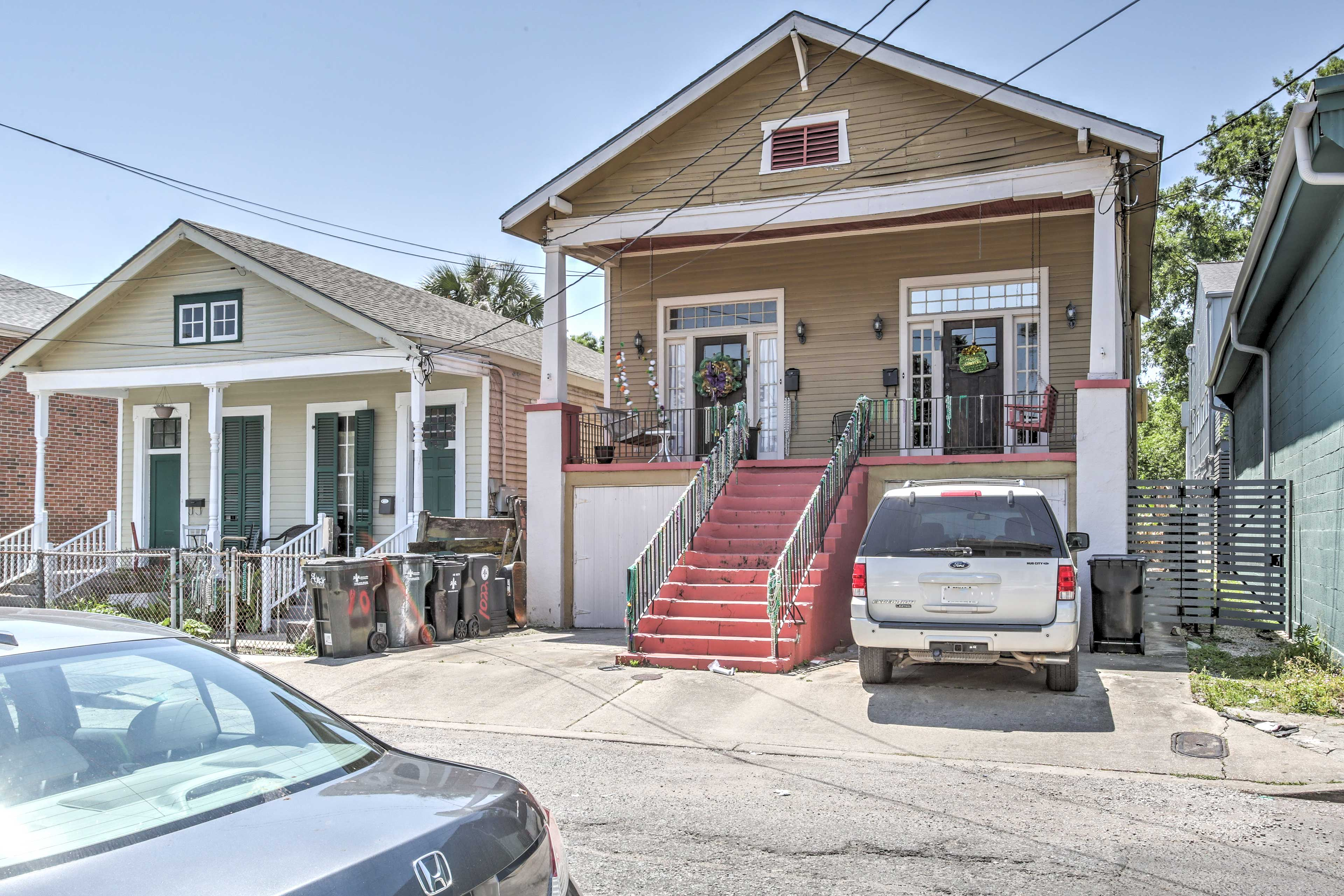 Set in the Garden District, this house is surrounded by historic charm.