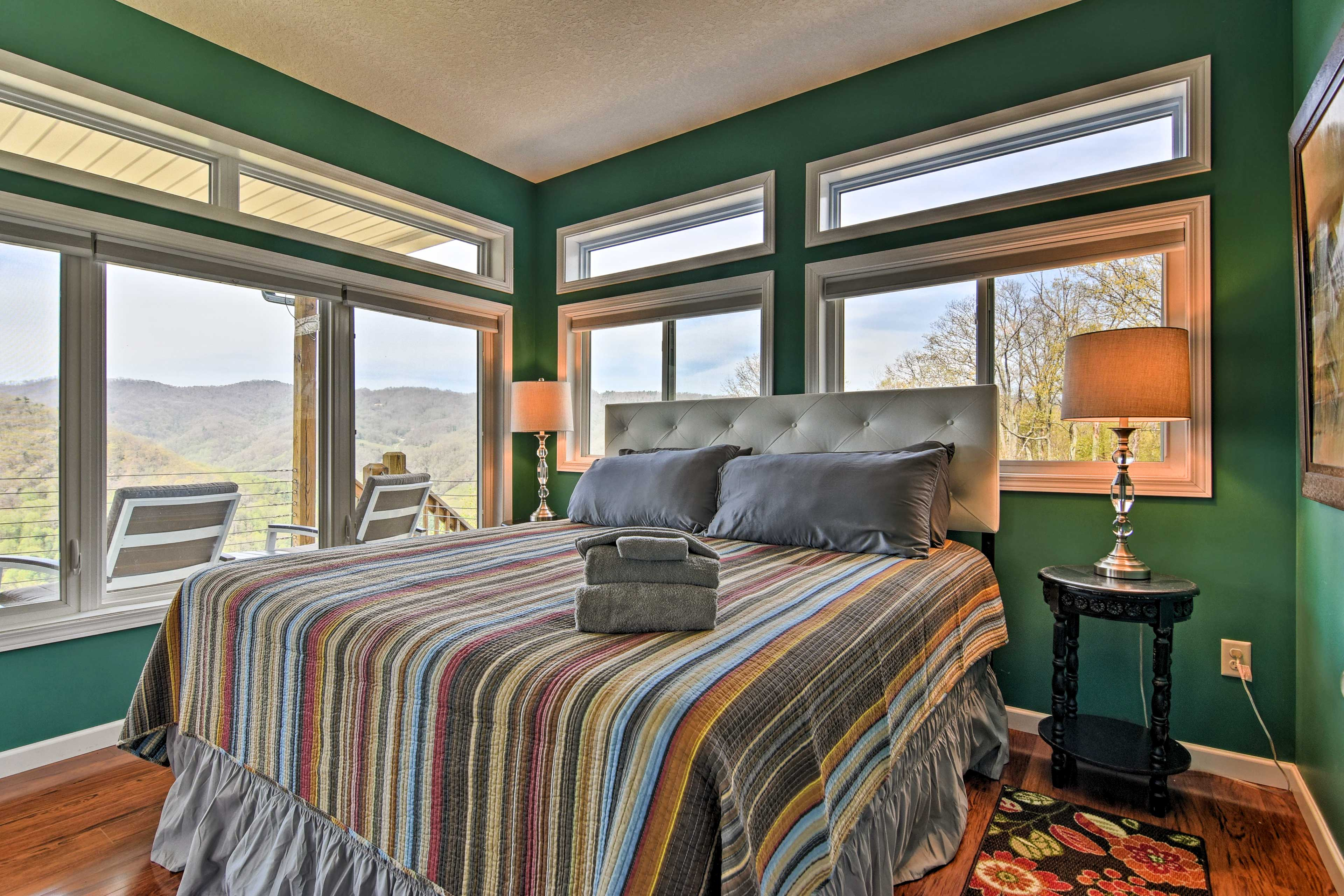 If you're looking for a room with a view, your search ends here!