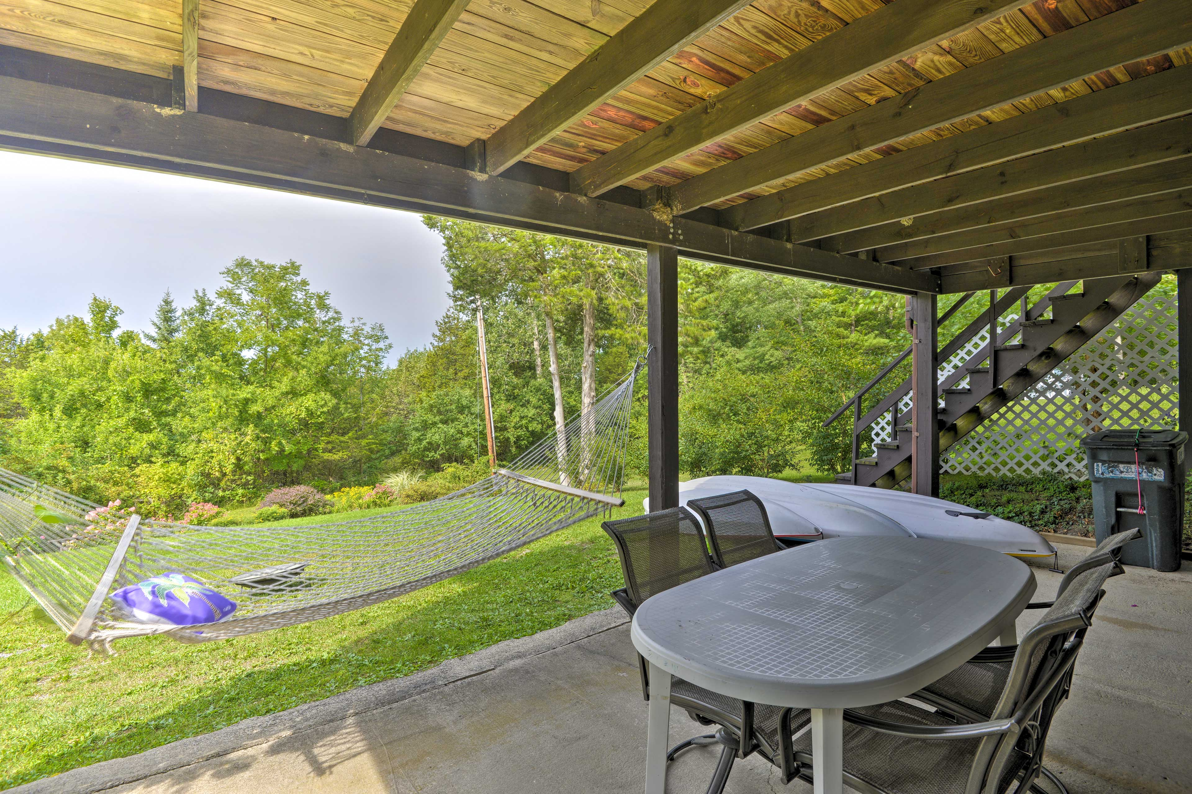 Explore the Finger Lakes region from this 3-bedroom, 2-bath home.
