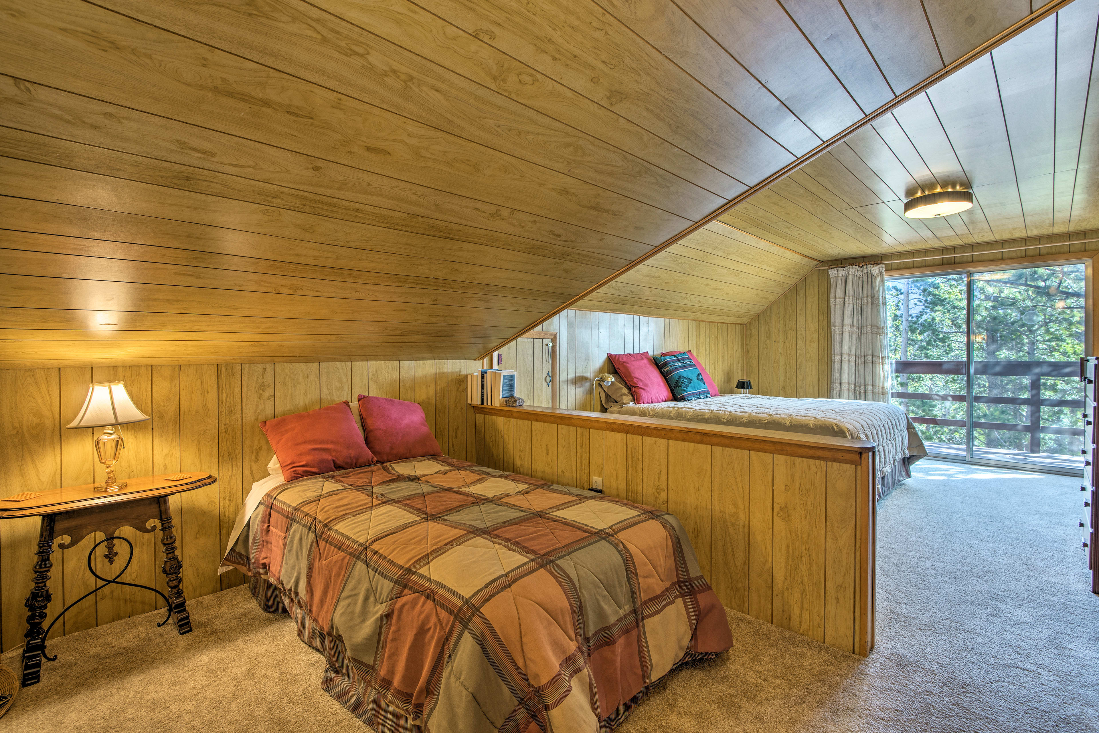 The loft is perfect for children.