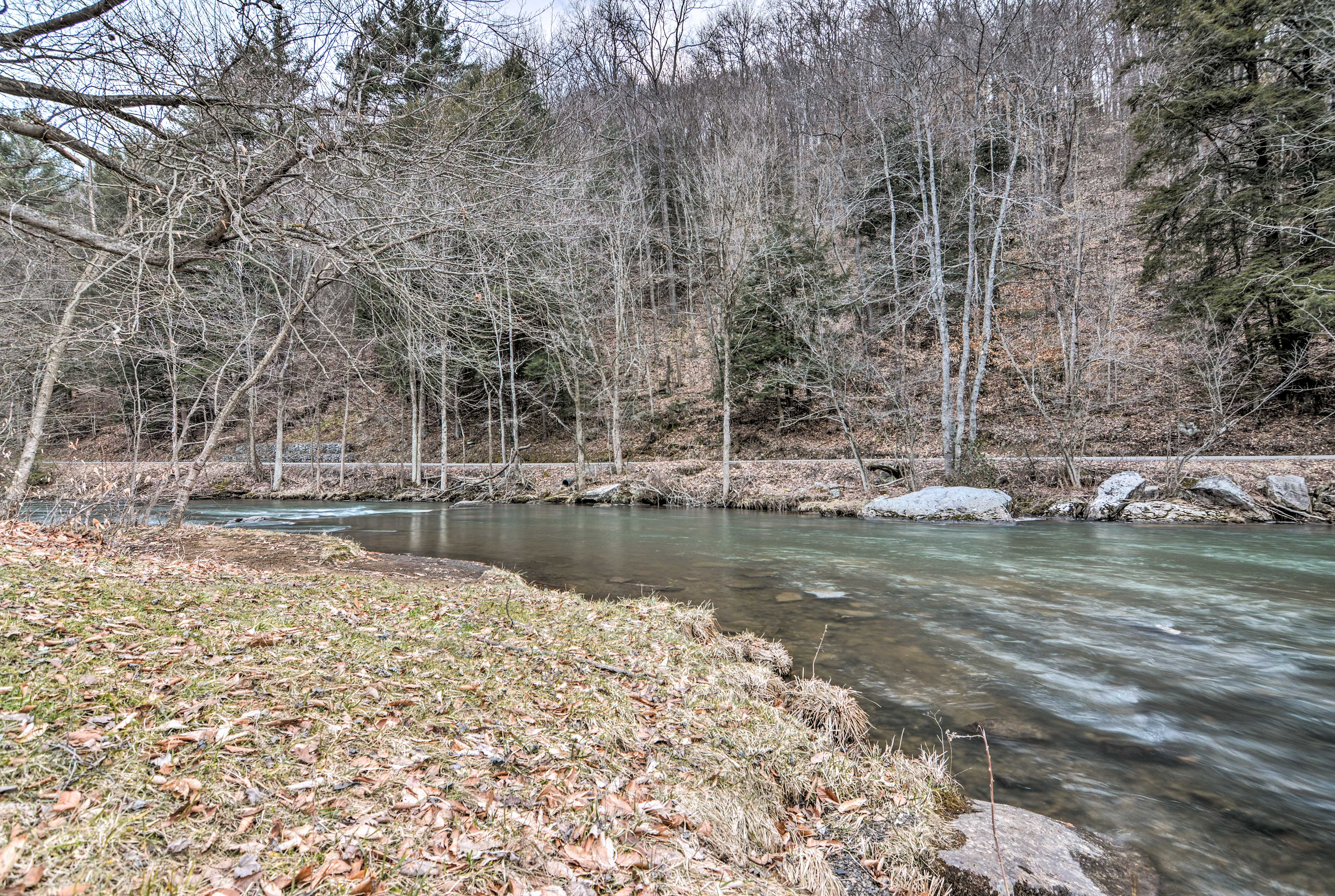 The Clarion River offers some of the best trout fishing in the state!