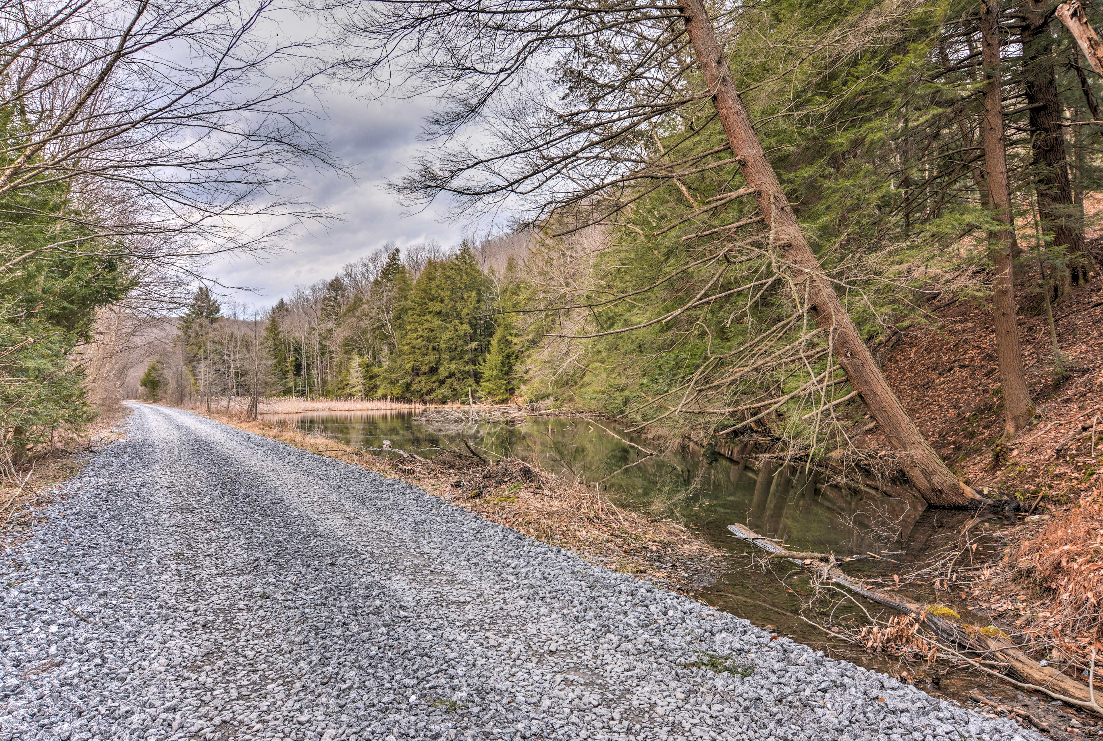 Miles and miles of jogging trails surround the property!