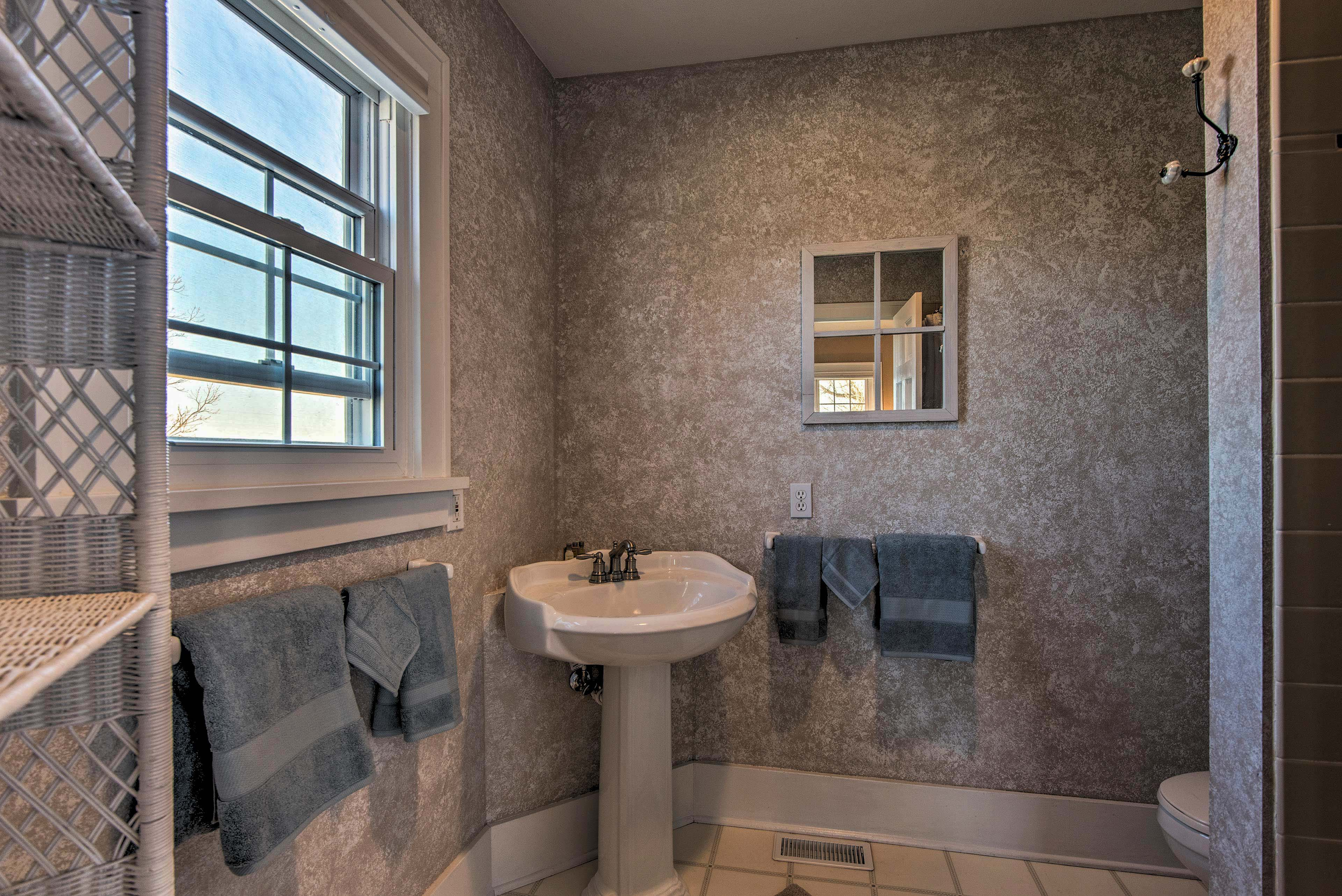 An en-suite bathroom is provided for convenience.