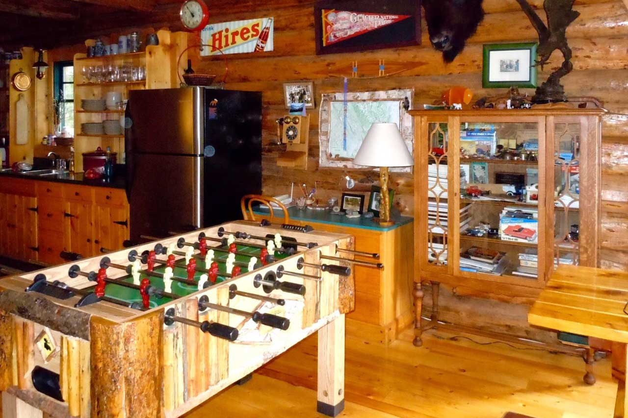 Challenge your travel companions to a game of foosball!