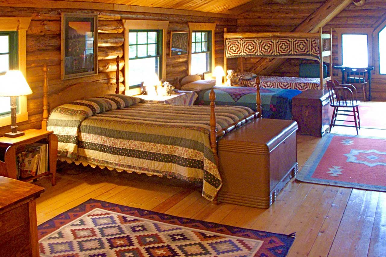 Your kids will enjoy the bunk beds!