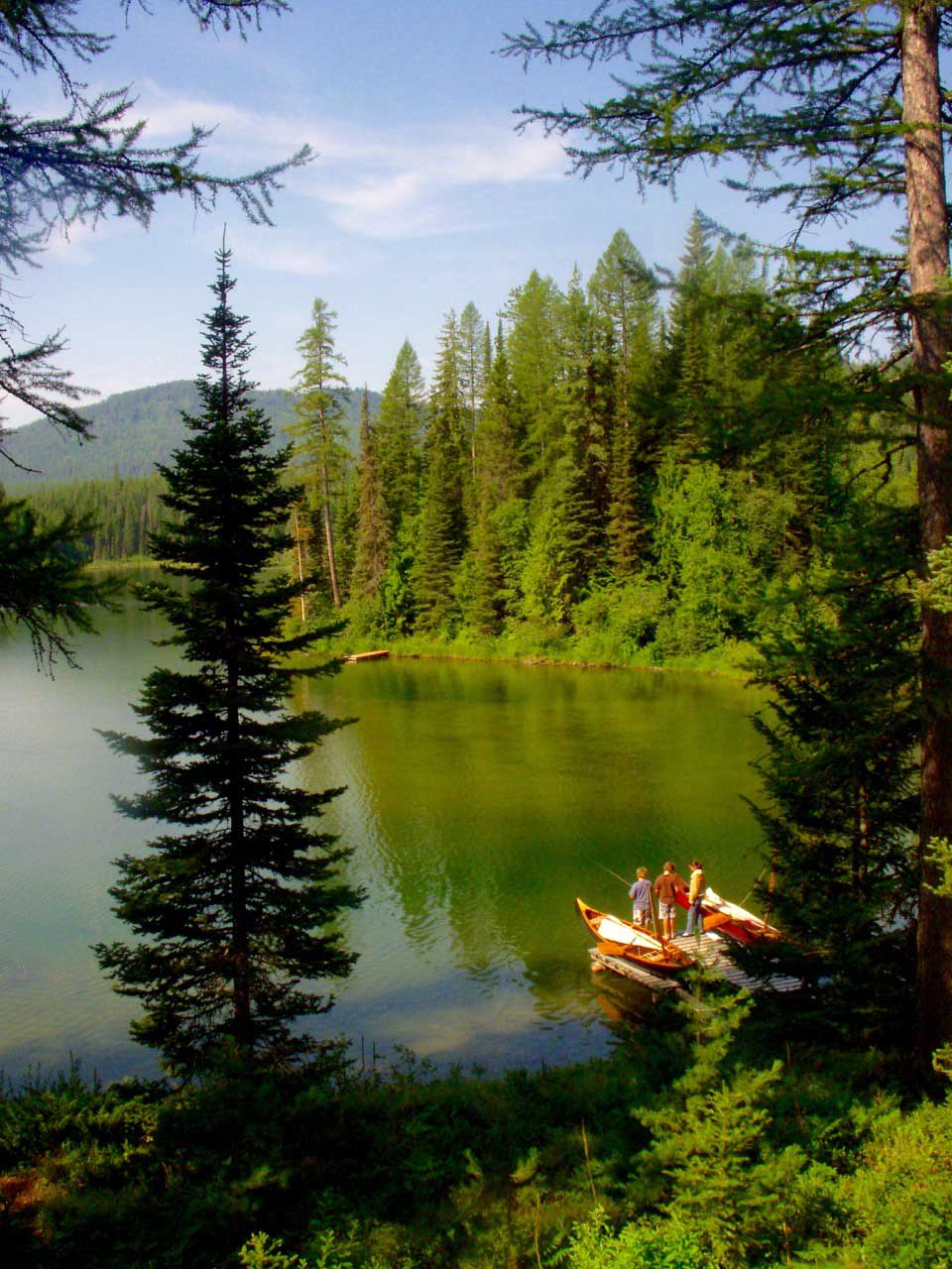 Fishing, and canoeing are just a couple of the activities you'll enjoy.