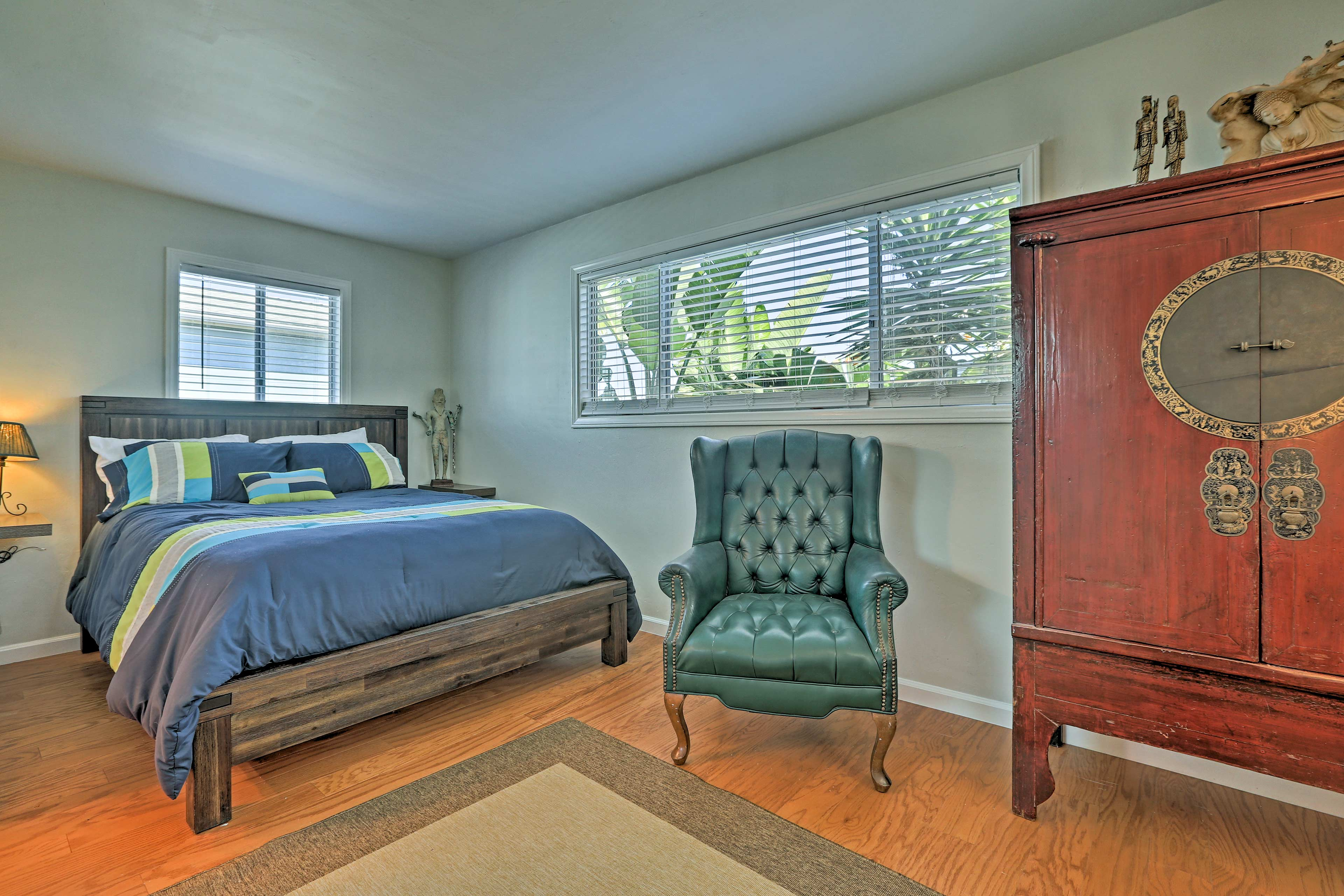 Retreat to one of the 3 bedrooms for a peaceful night's sleep.