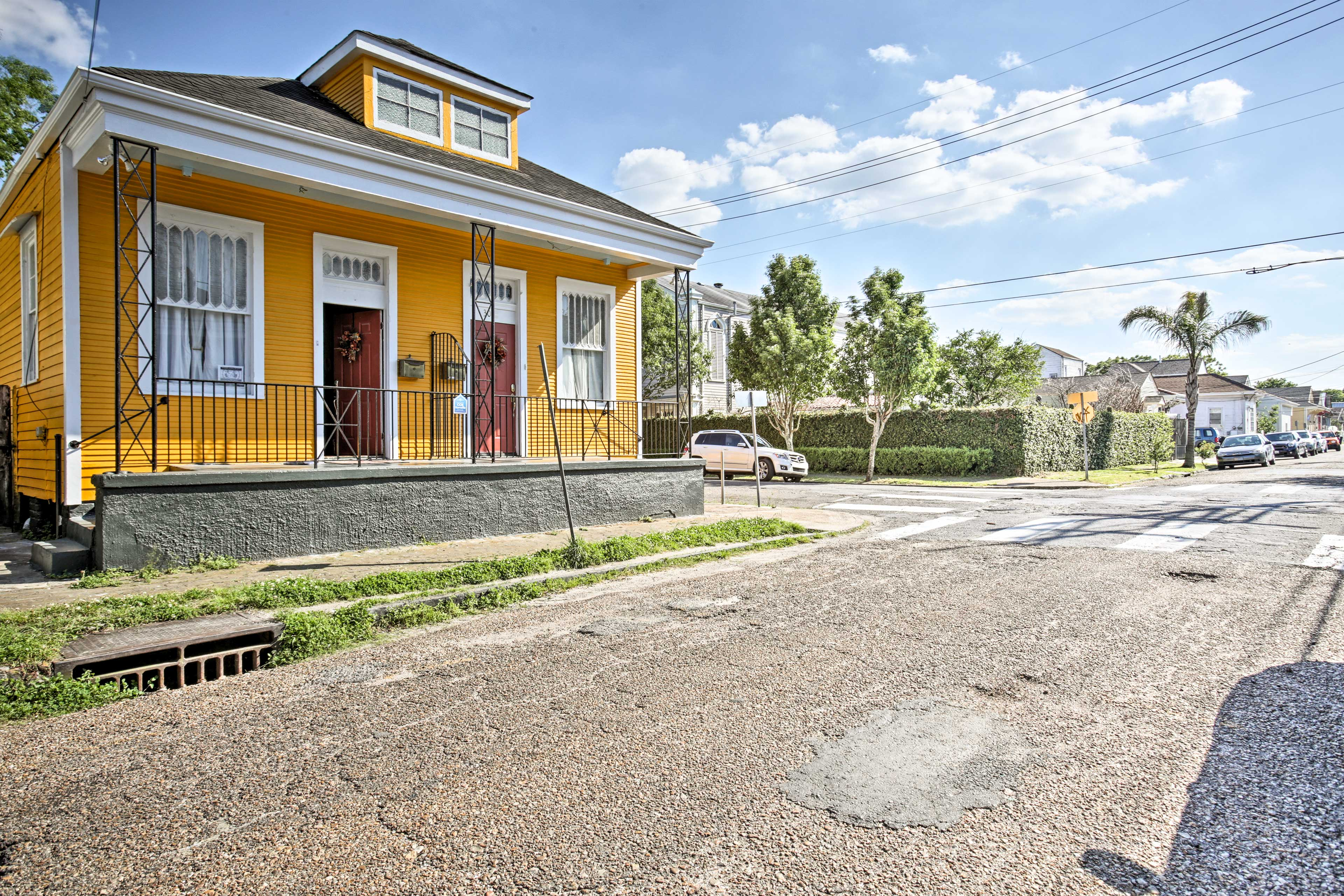 Experience the best of New Orleans at this vacation rental home!