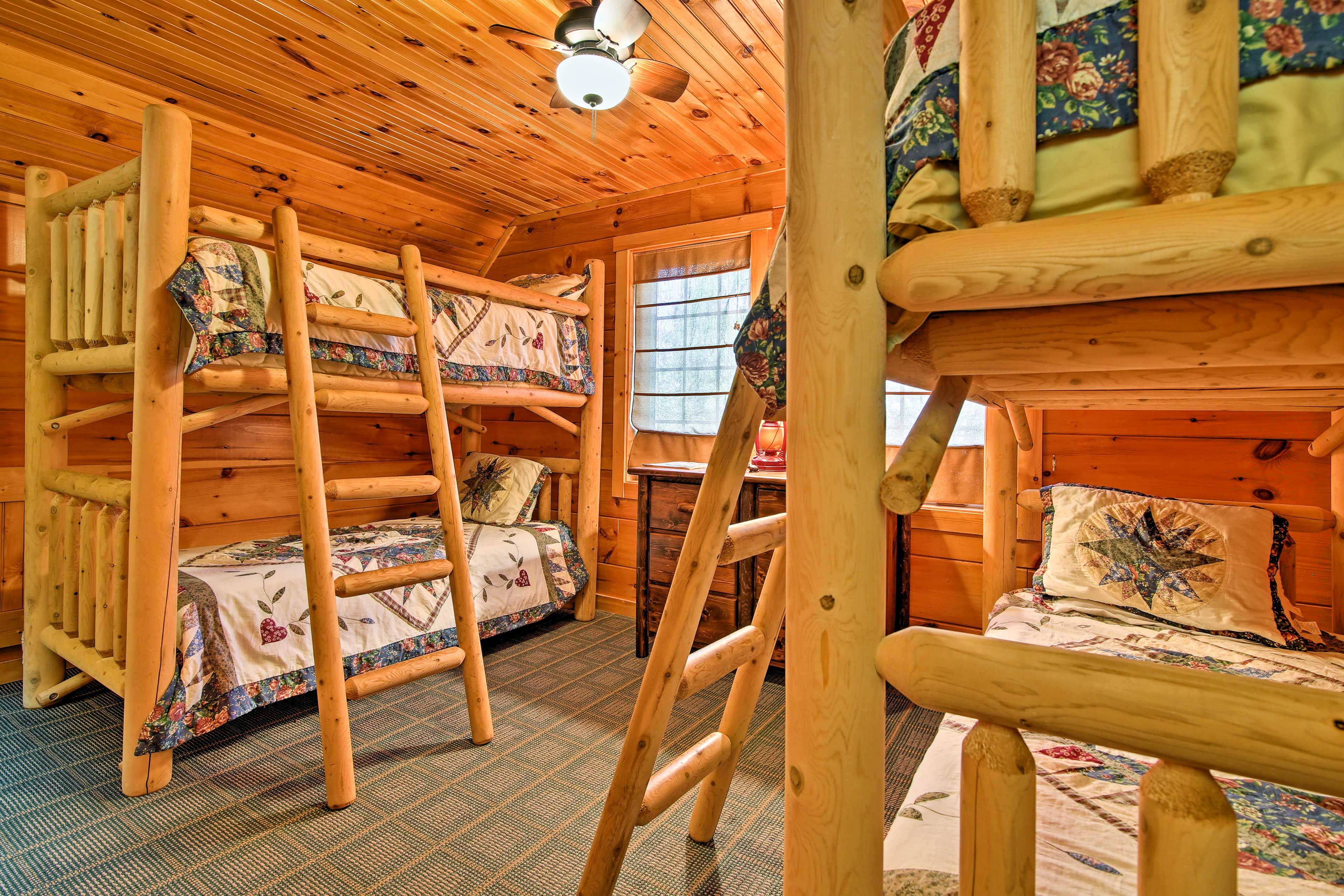 The kids will love a space all their own in the third bedroom.