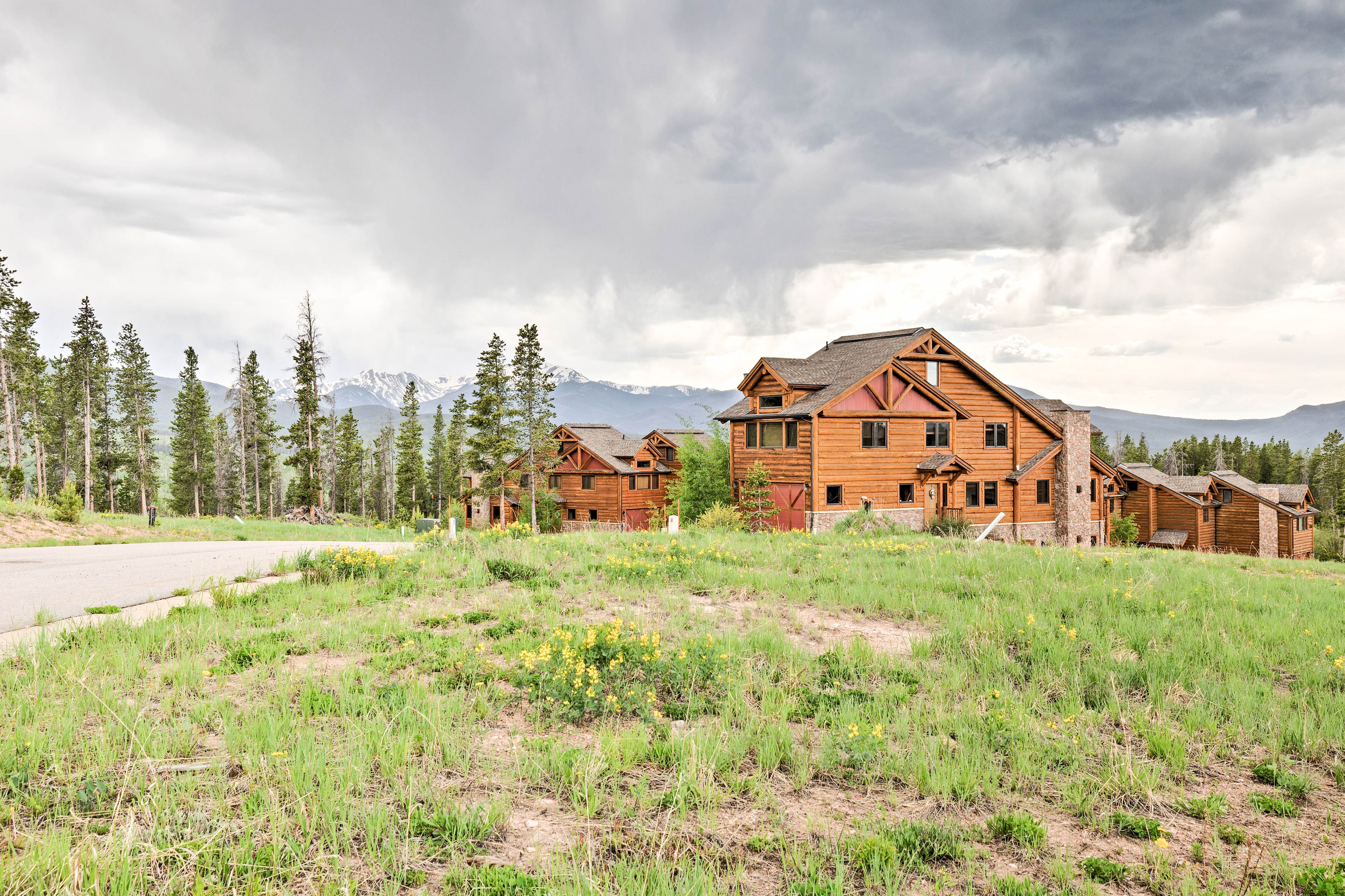 Embrace the relaxation that comes from staying at this secluded mountain home.