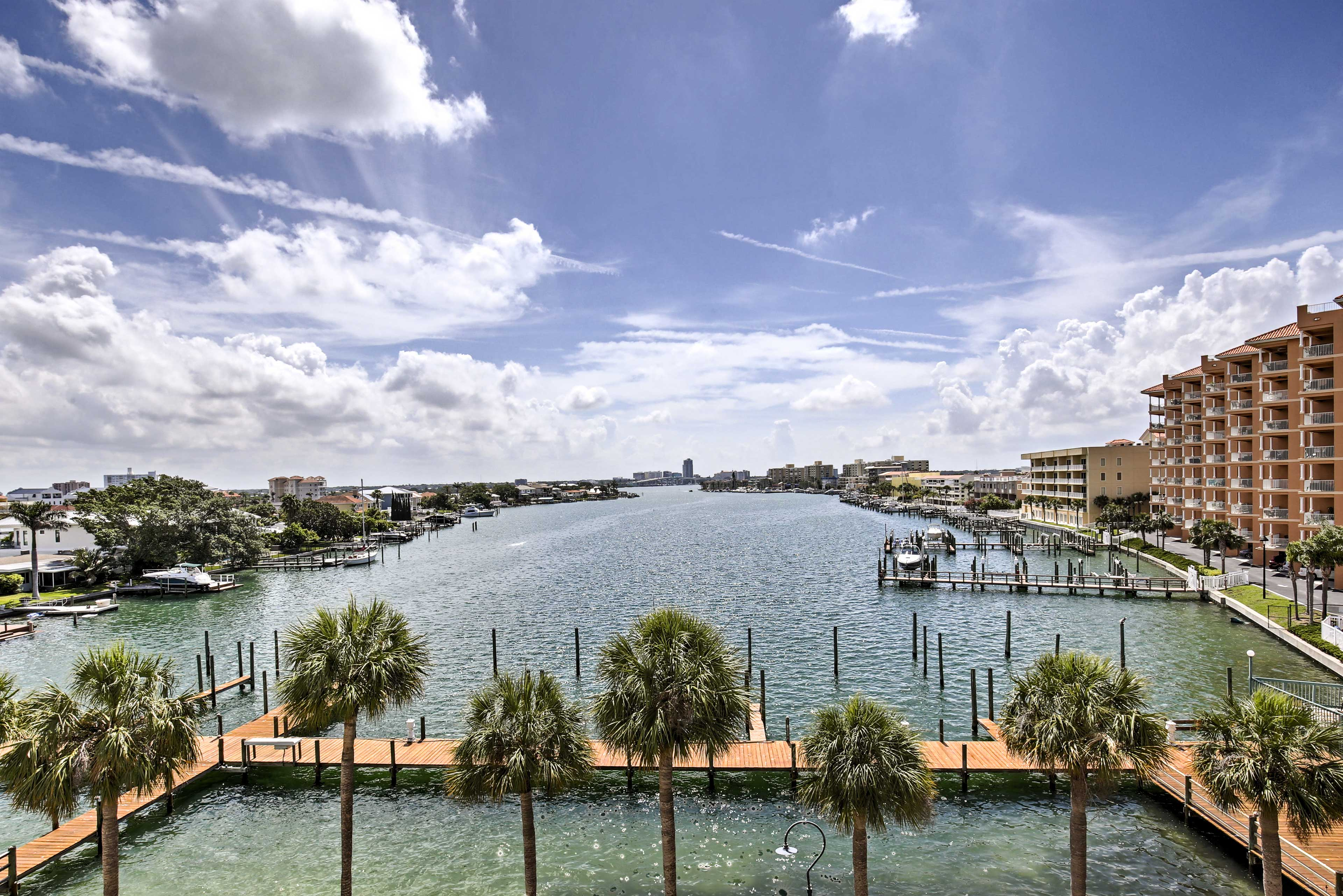 Clearwater Beach is just 2 blocks from your homebase!