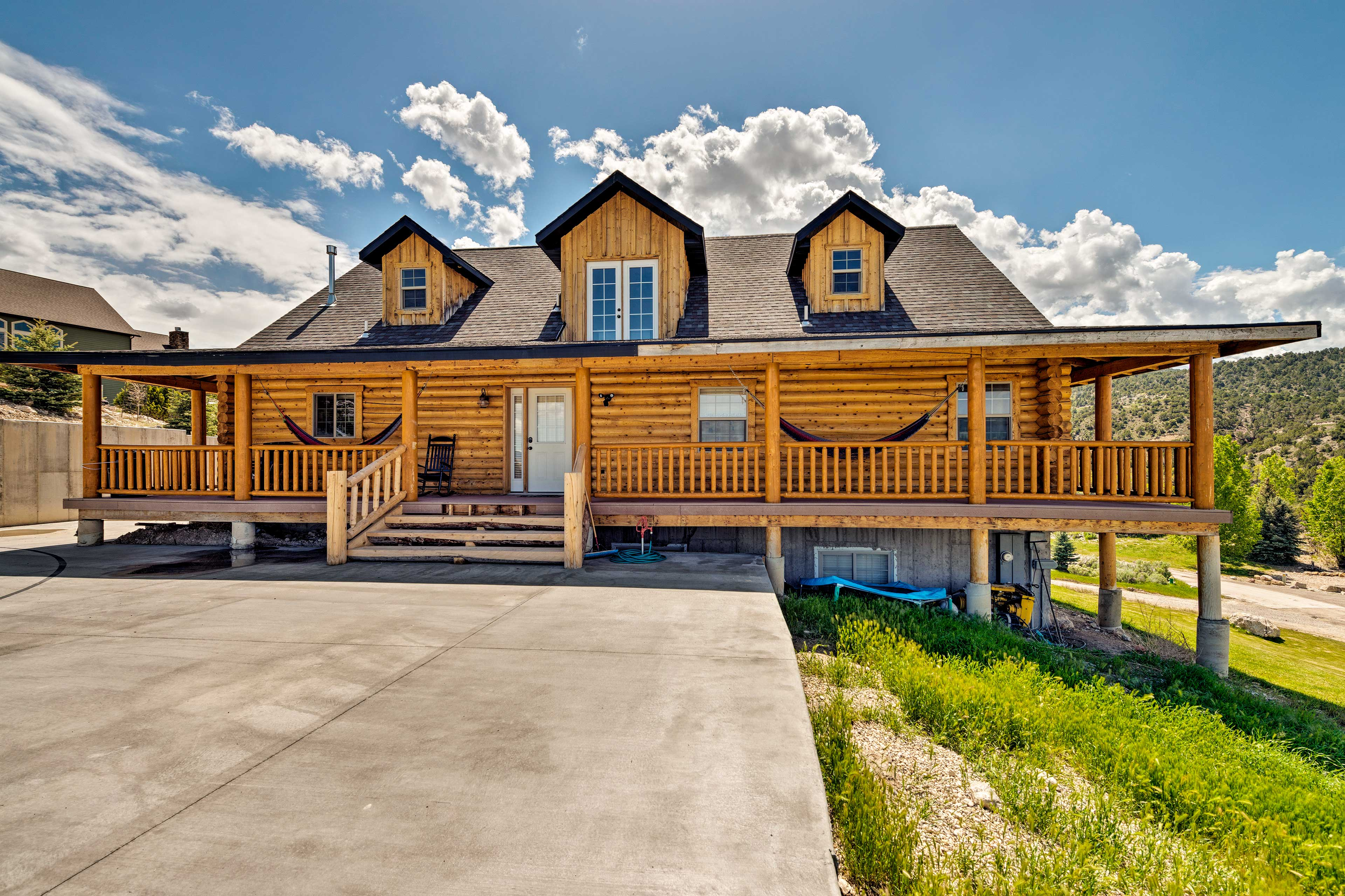 An ideal family getaway awaits at 'Englestead Cabin' in Sterling.