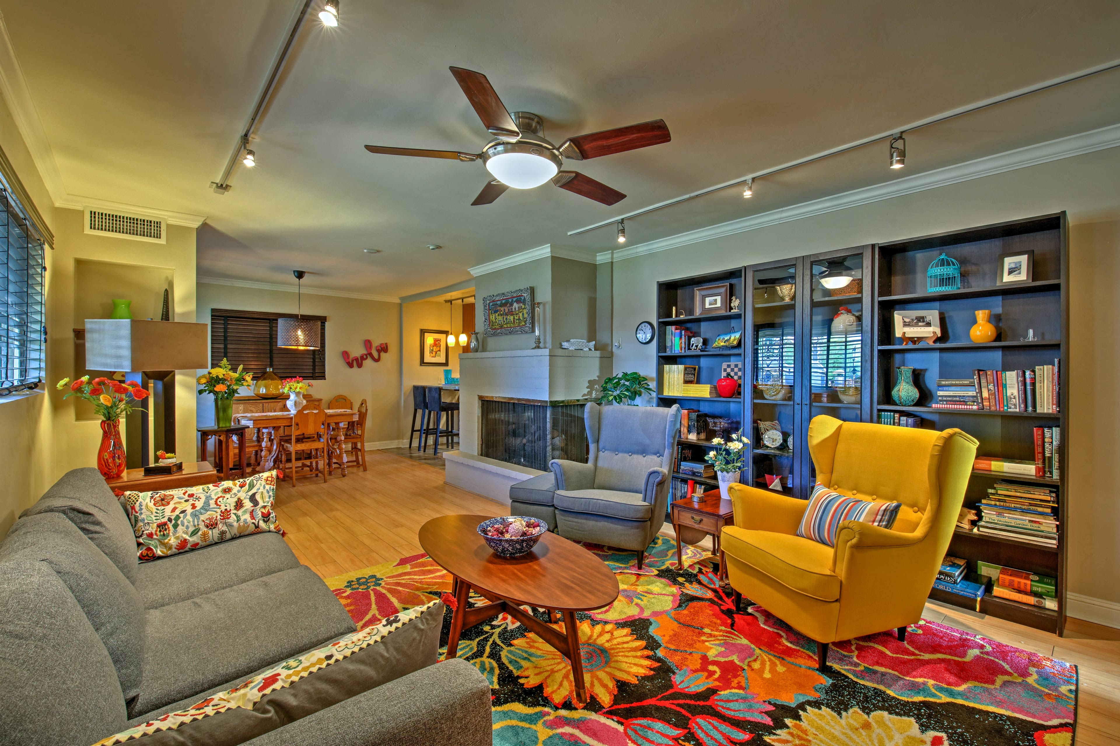 Escape to Phoenix and stay at this 4-bedroom, 2-bath vacation rental house!