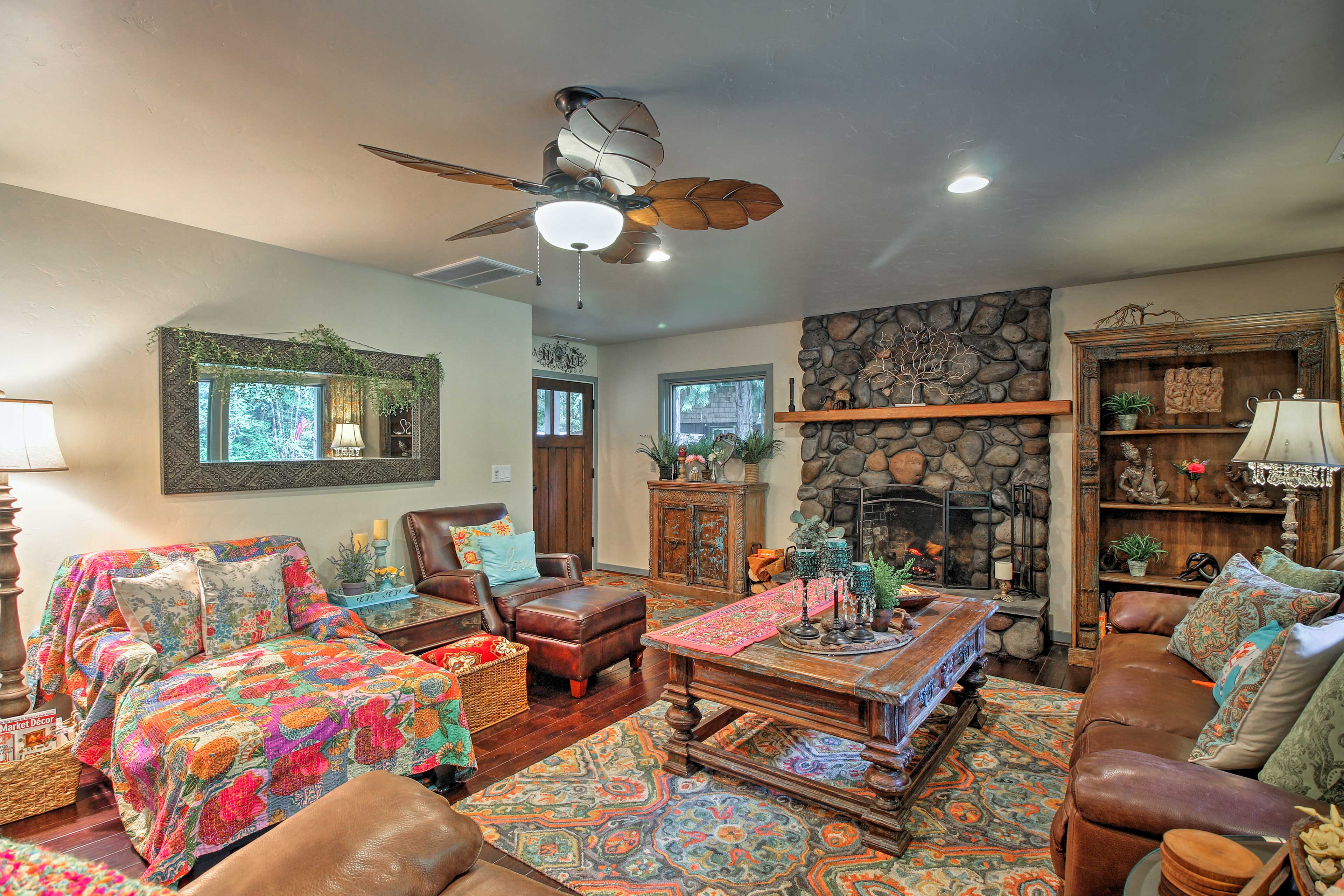 You could ask for an amazing living space, but the home already has that!