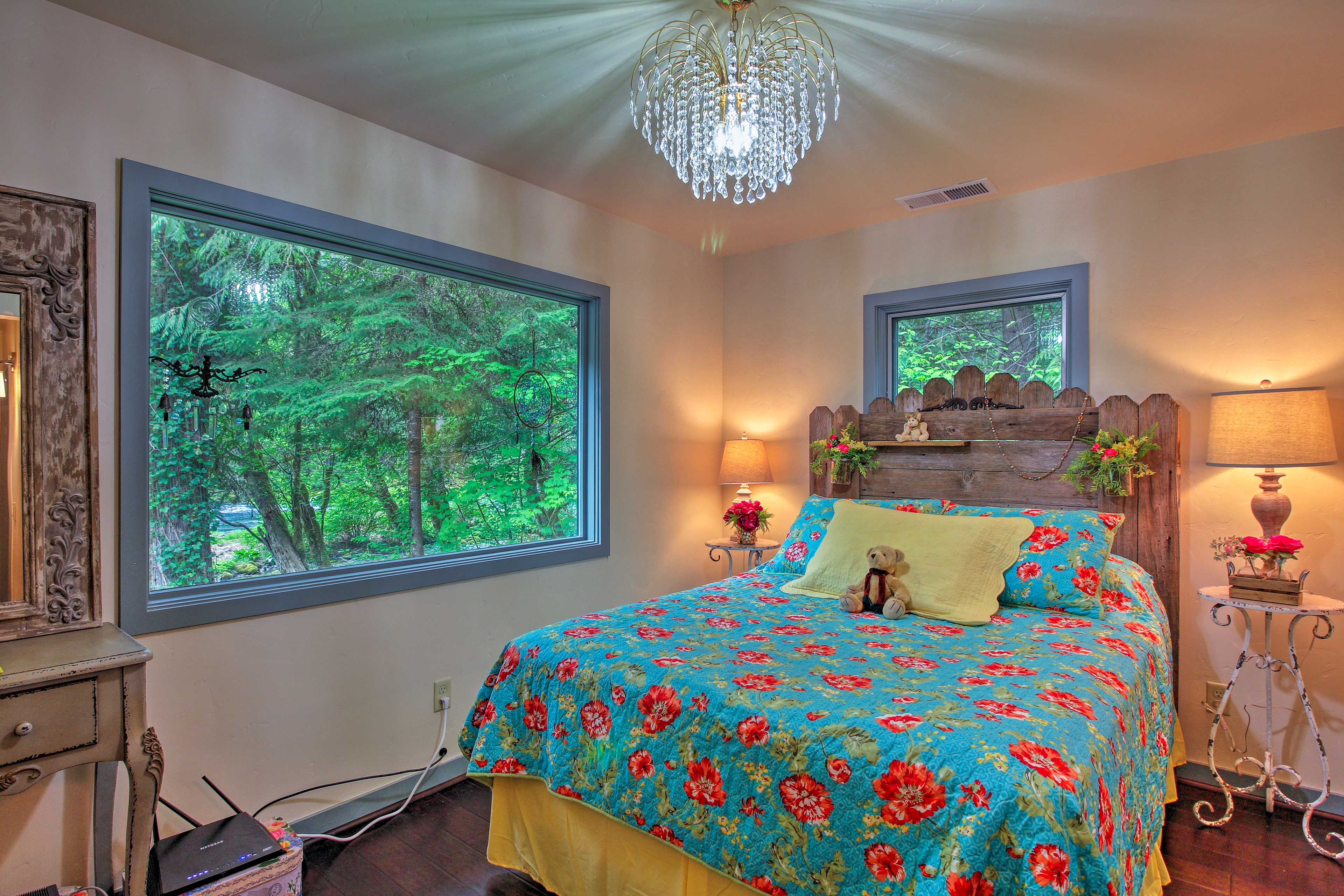 The other bedroom is just as amazing!