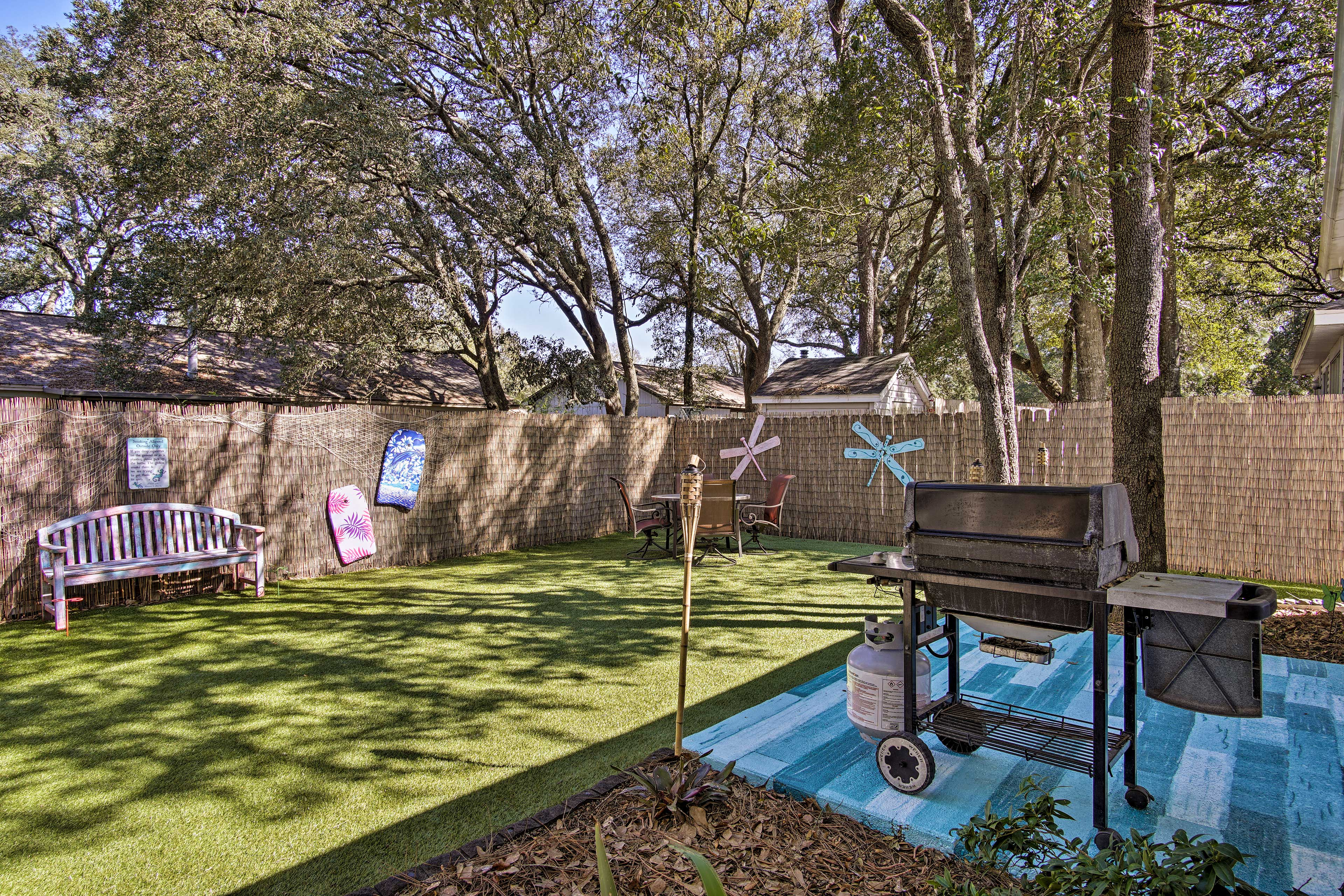 You'll love having your own yard.
