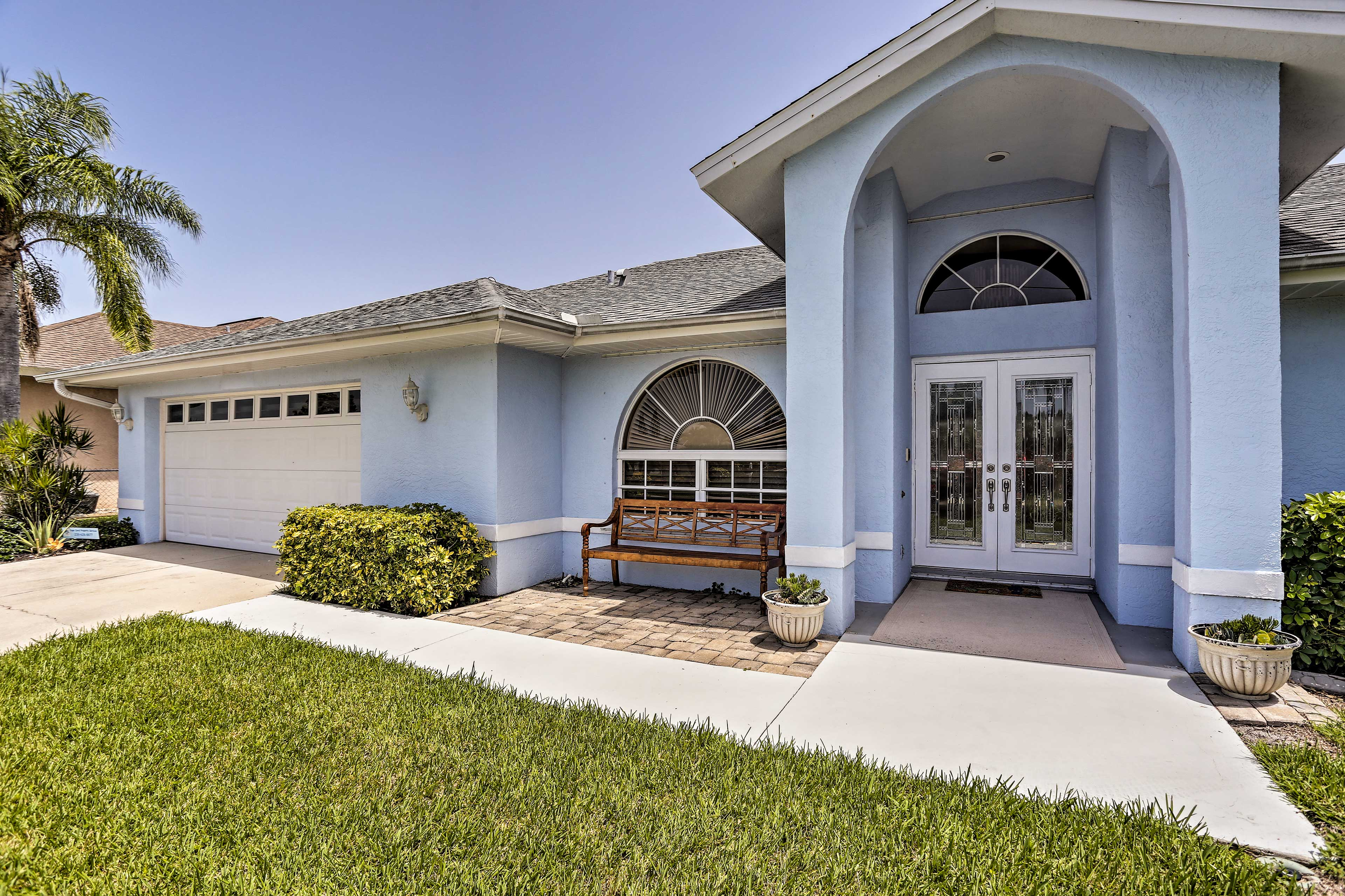 This Cape Coral home awaits!