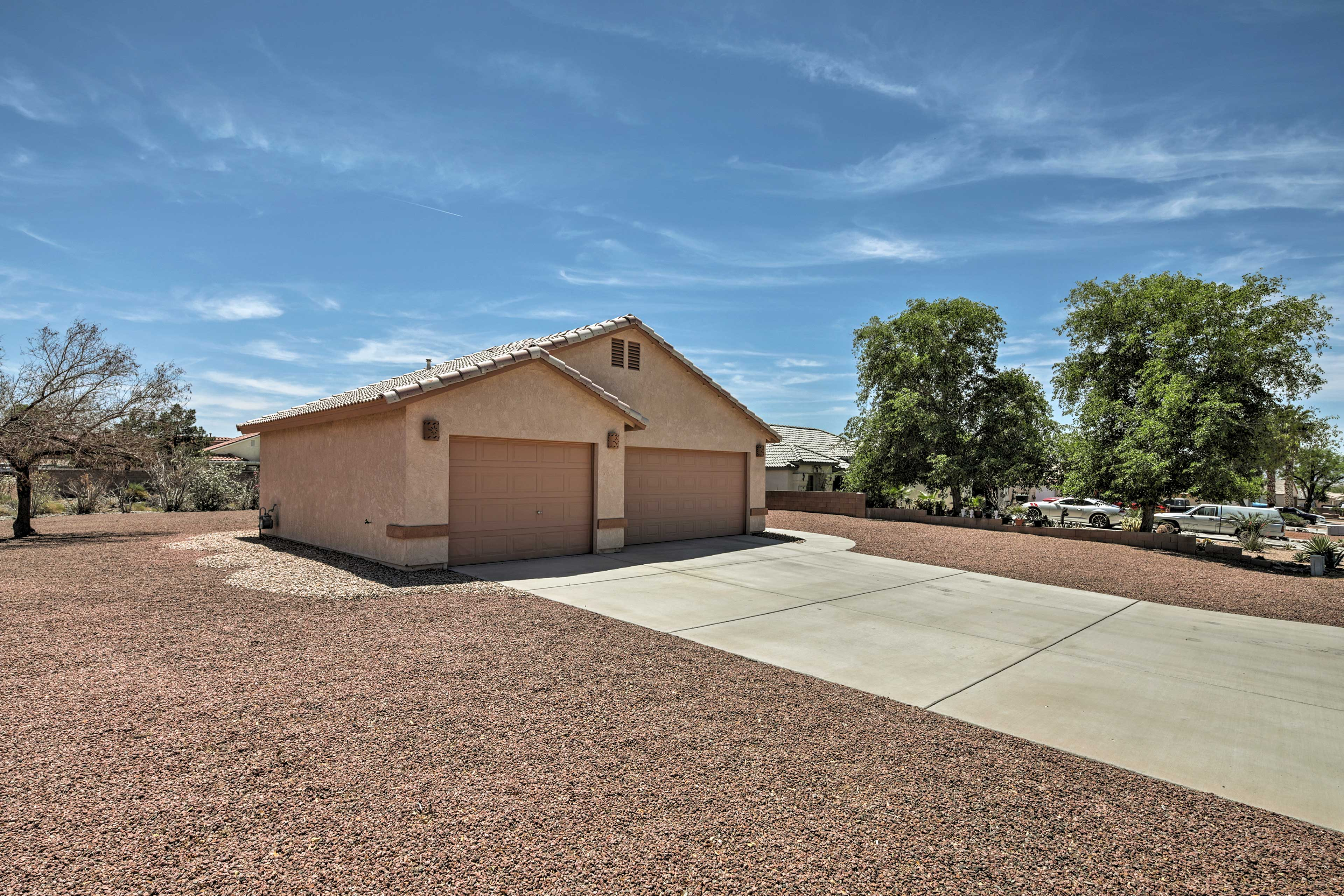 Minutes from rafting and fishing, this home is great for outdoor adventurers.