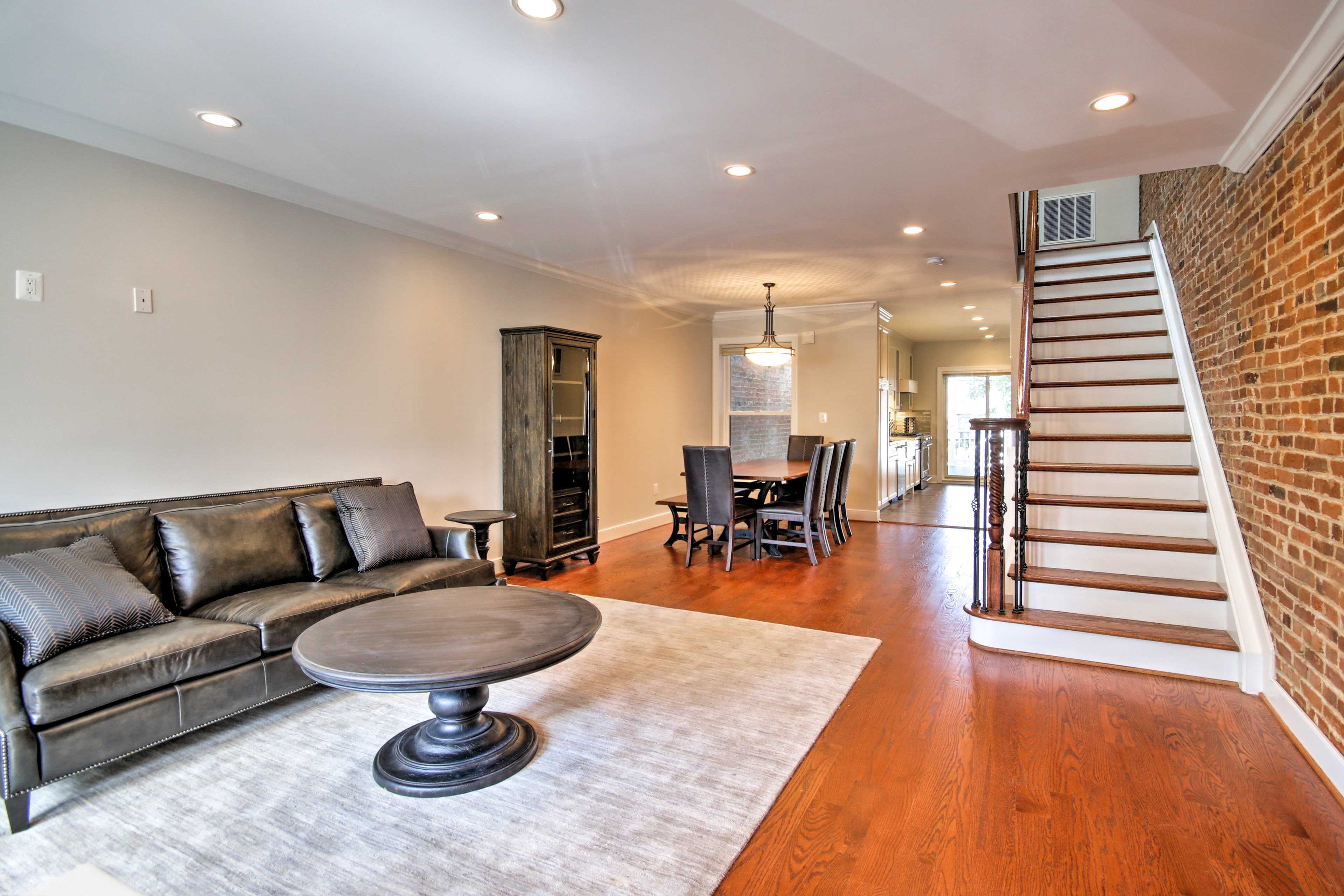 Switch into vacation mode the moment you step on the brand new hardwood floors.