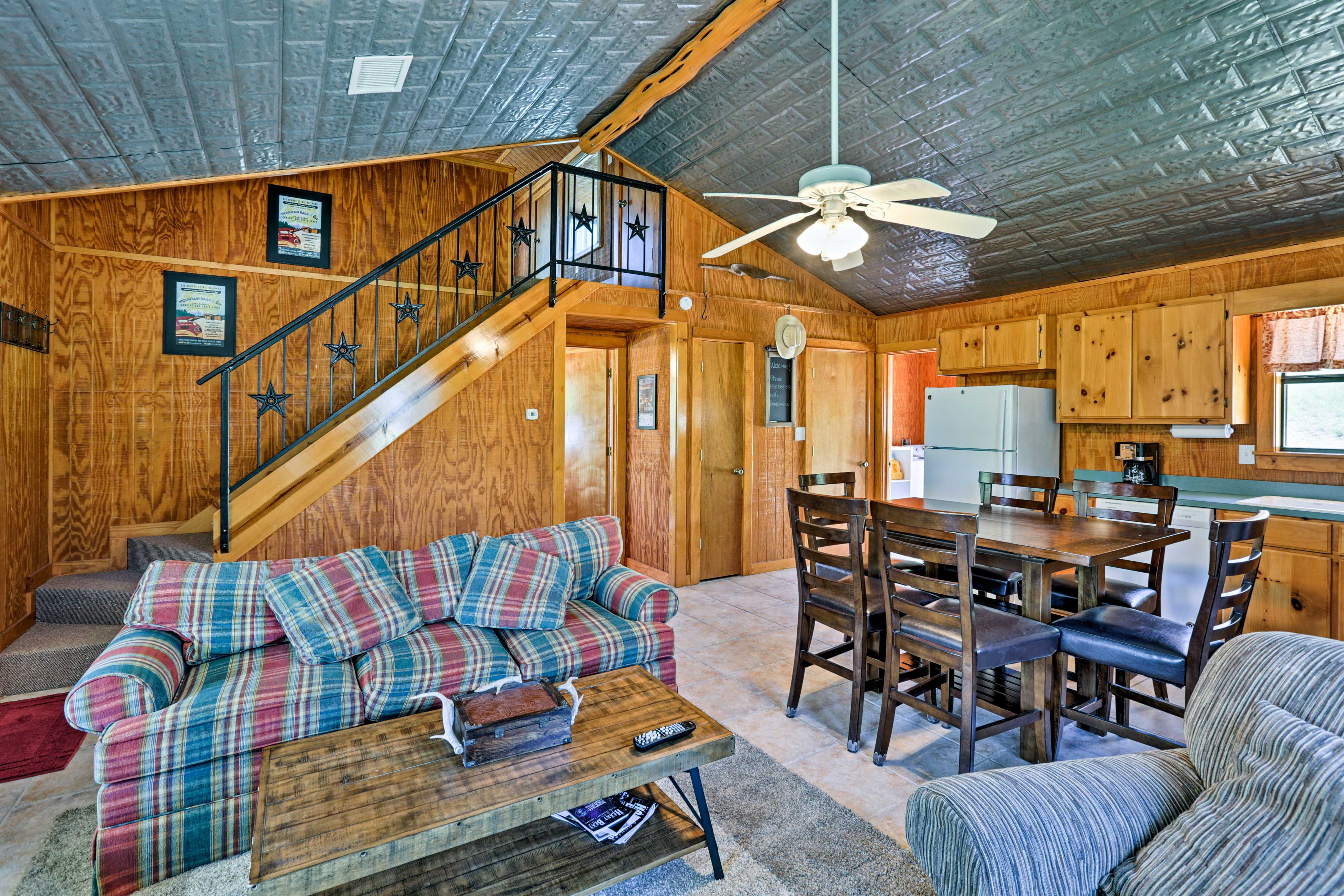 These cottages are perfect for multiple families looking for their own space.