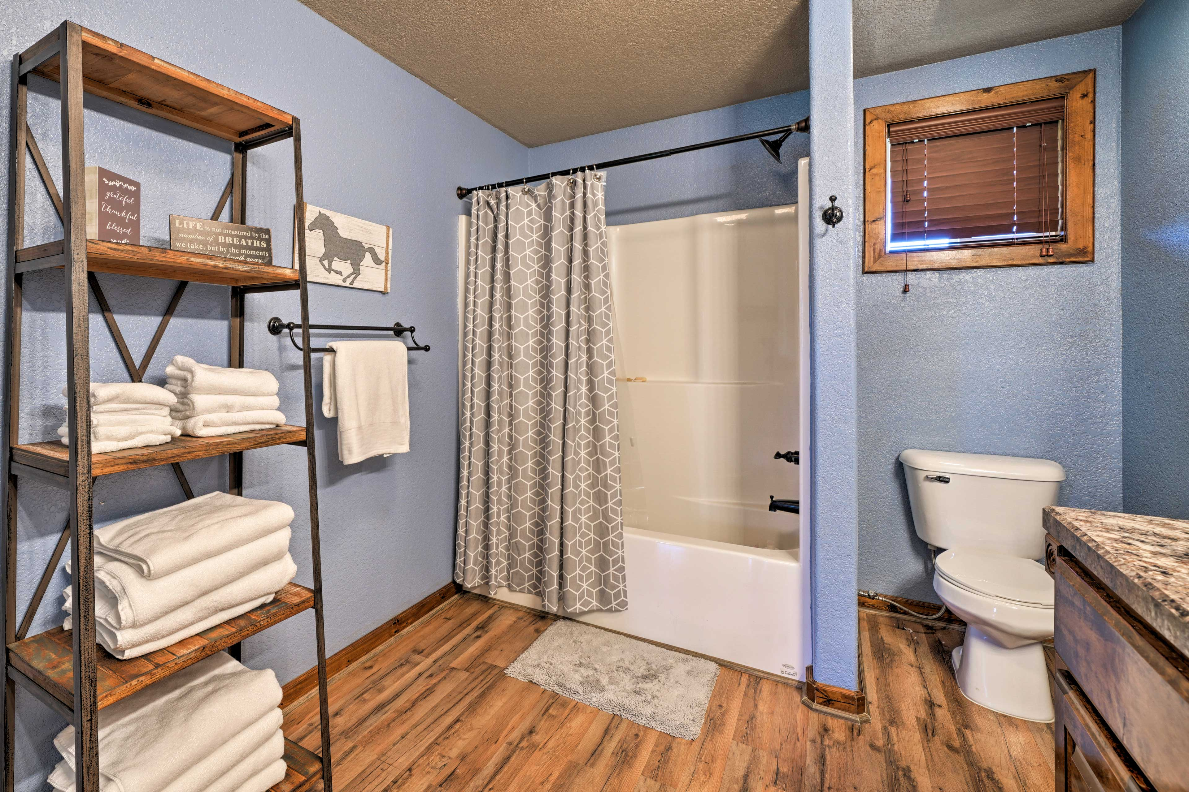 Soft linens and towels are provided so don't need to bring your own!