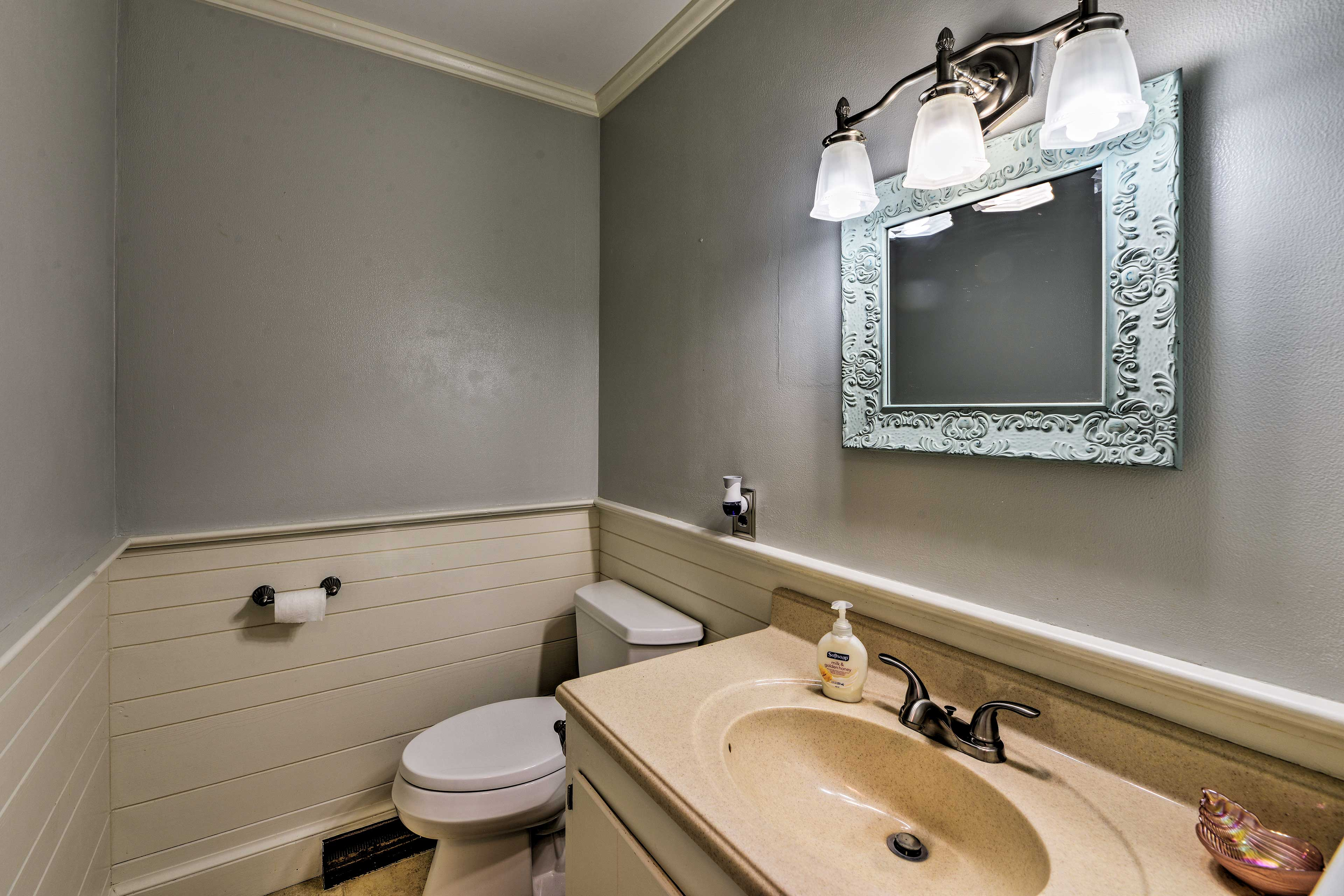 With 3.5 bathrooms,  getting ready in the morning will be a breeze!