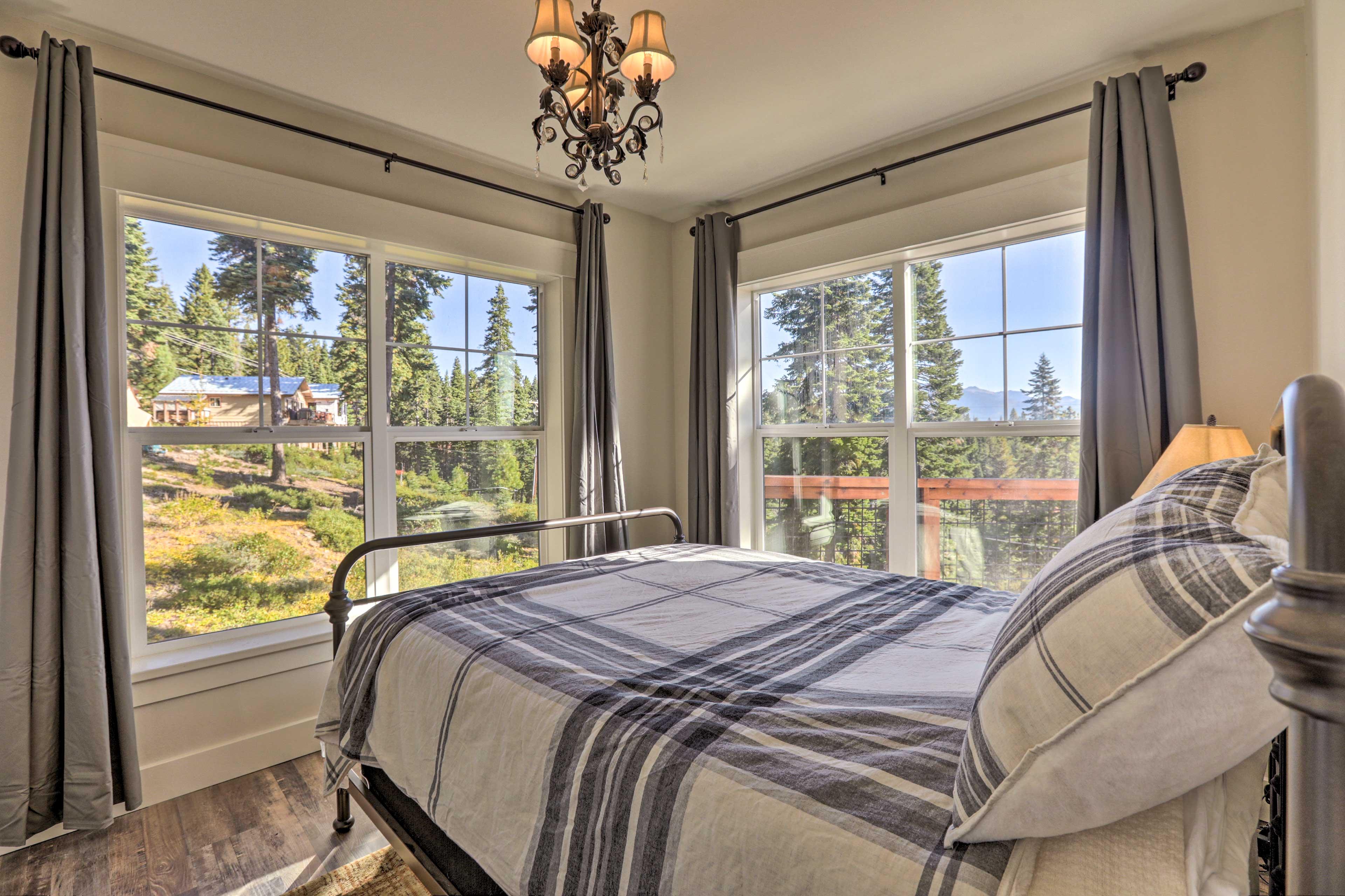 Open the windows for fresh mountain air.