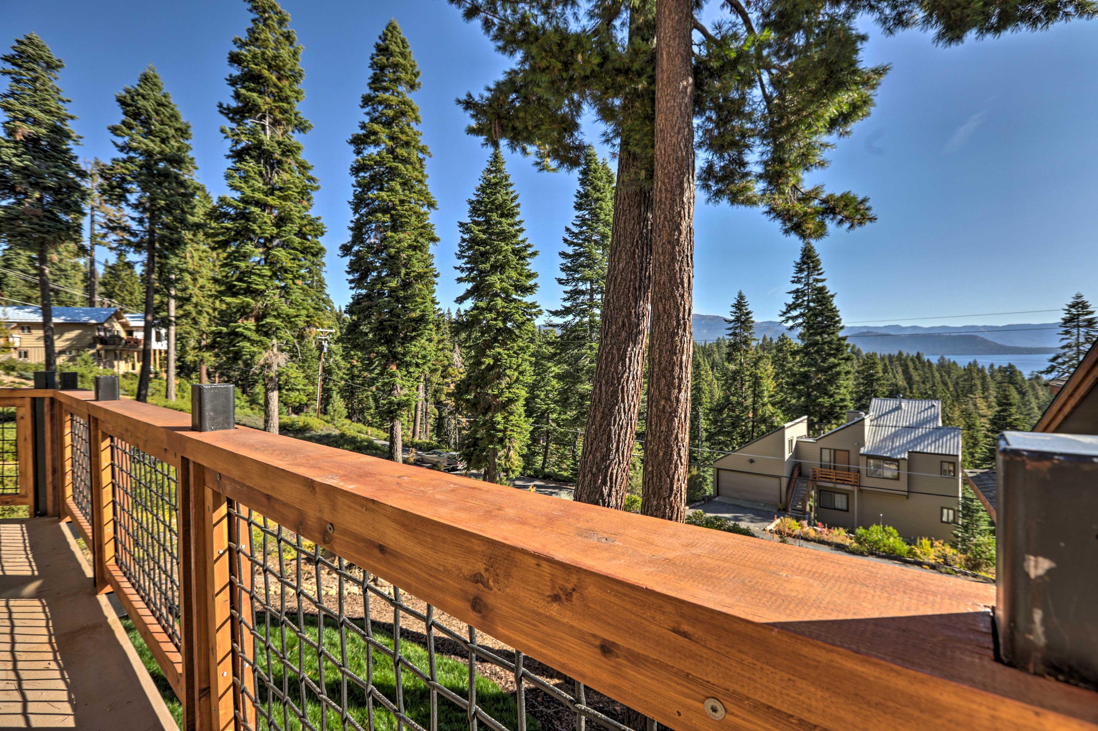 The home boasts 170-degree panoramic views.
