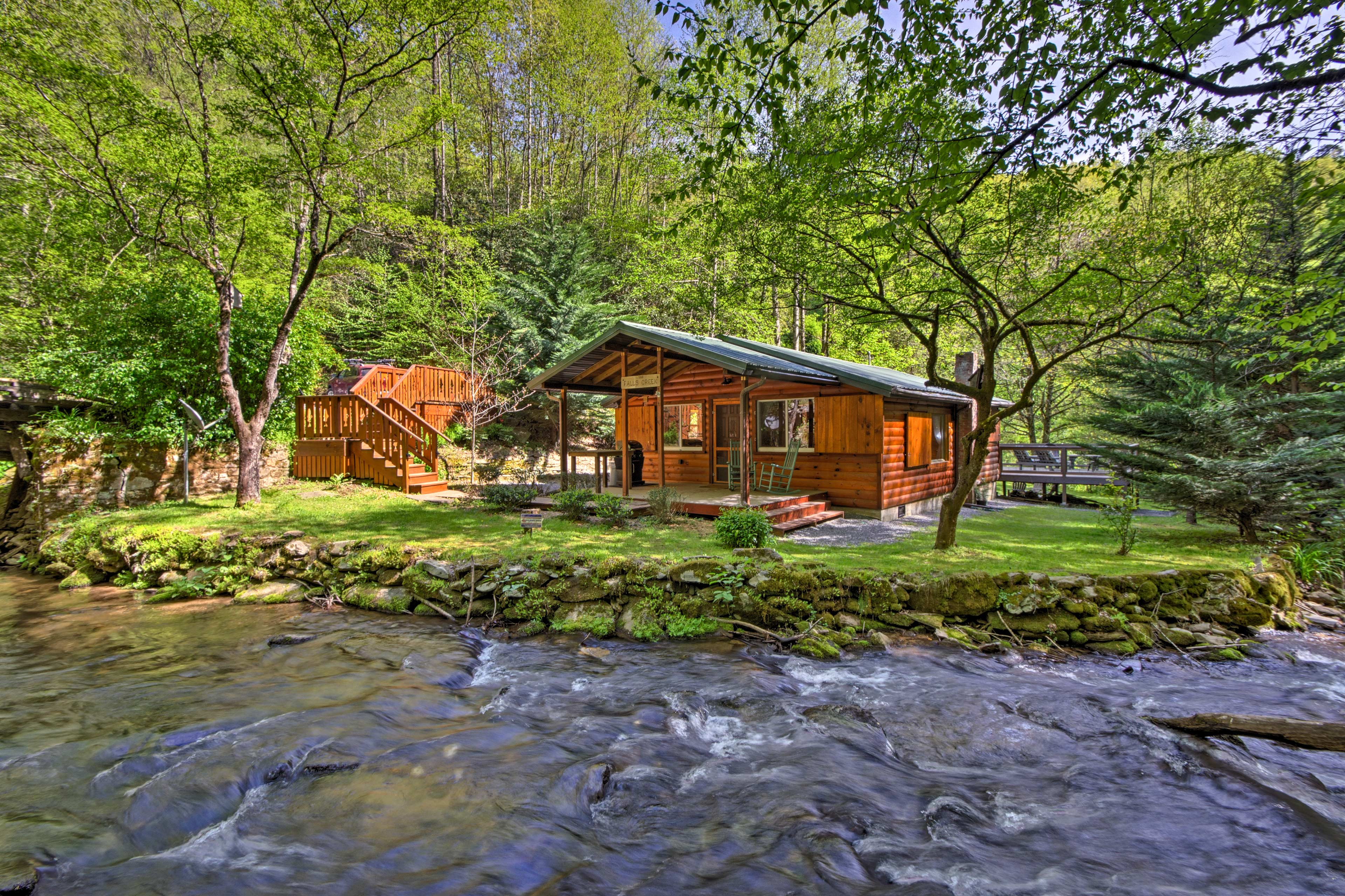 Clear your calendar for a trip to this Bryson City vacation rental cabin!