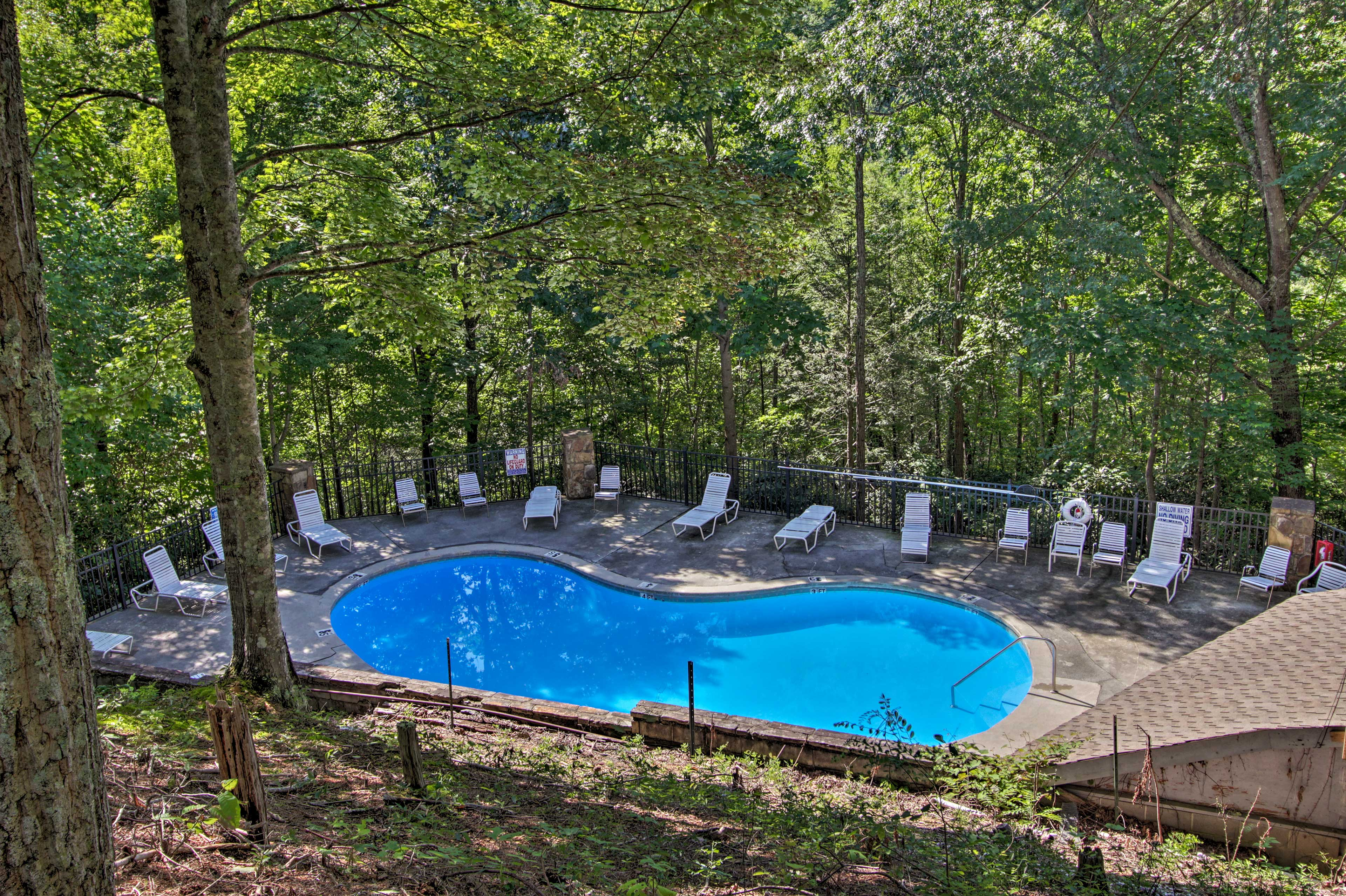 Choose from 3 community pools!