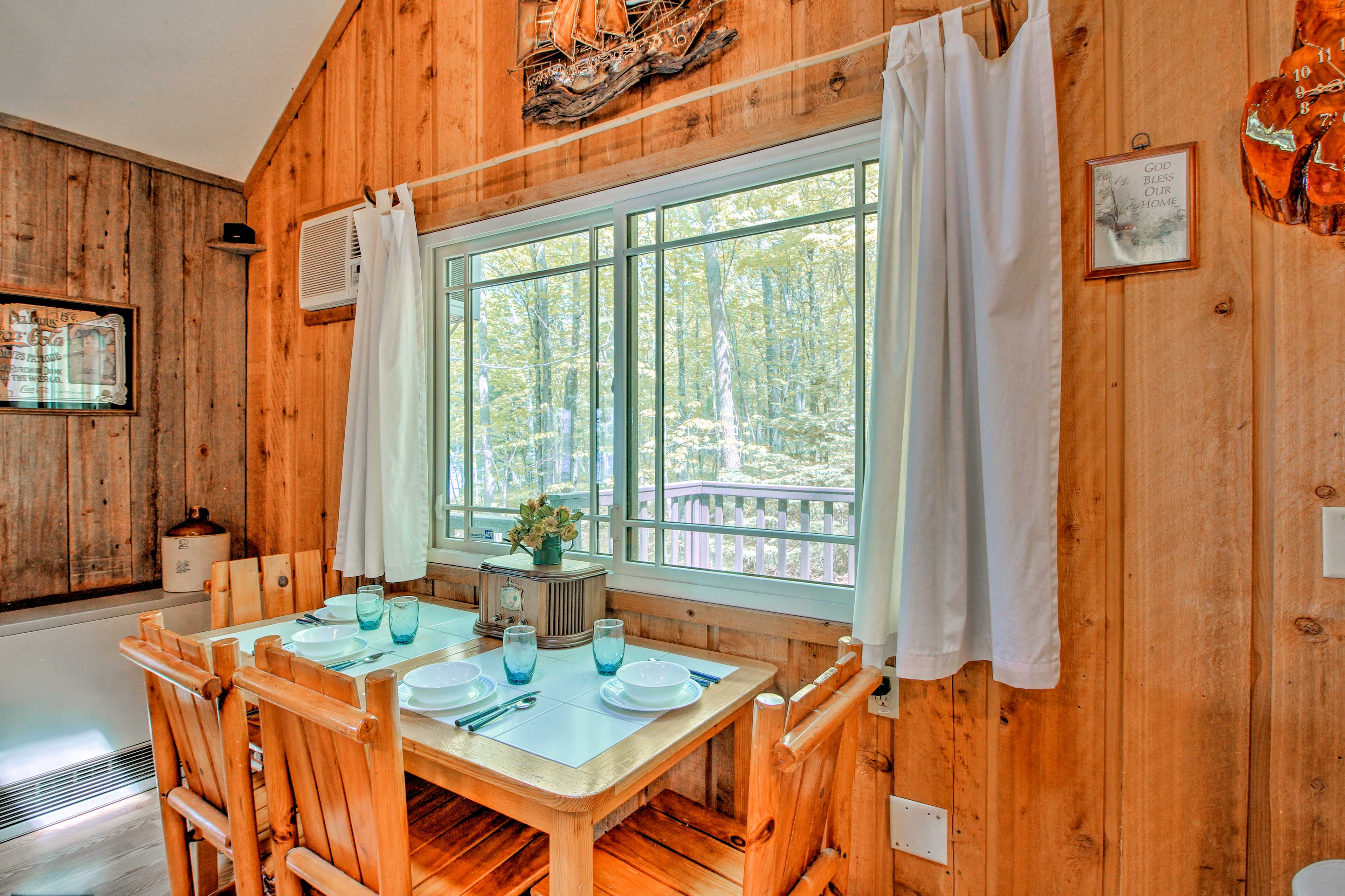 Gather around this dining table for a memorable family meal.
