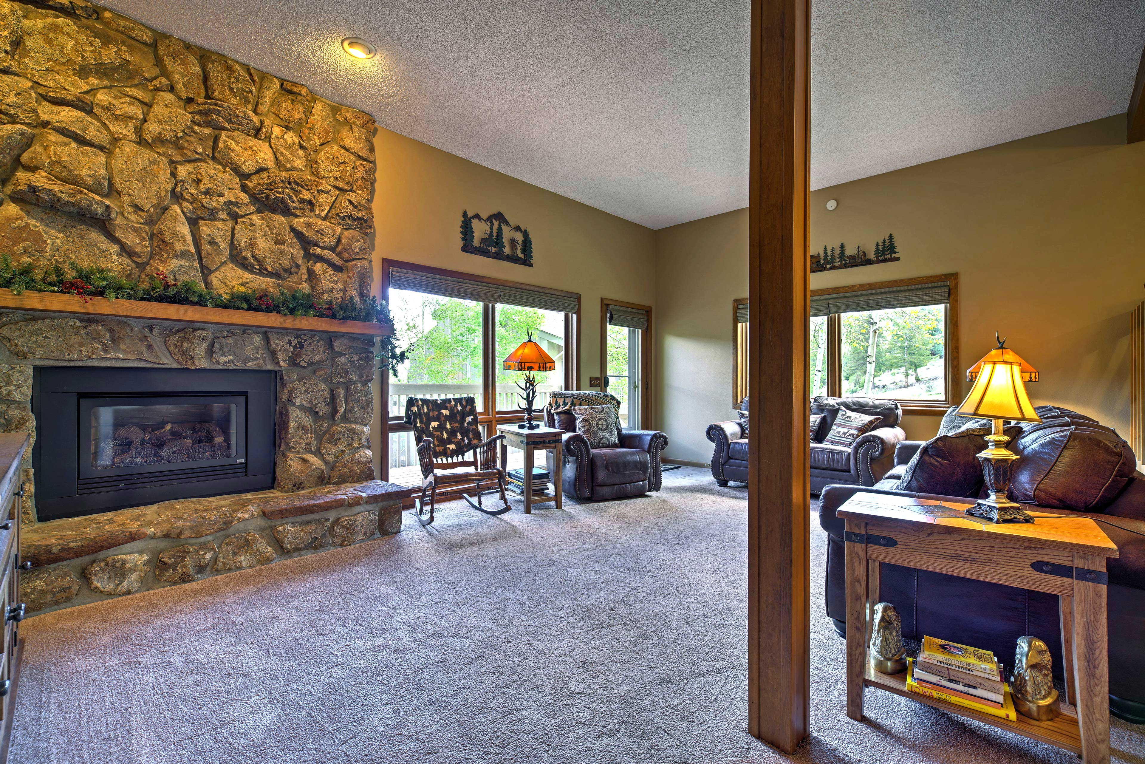 You'll love the open-concept interior.