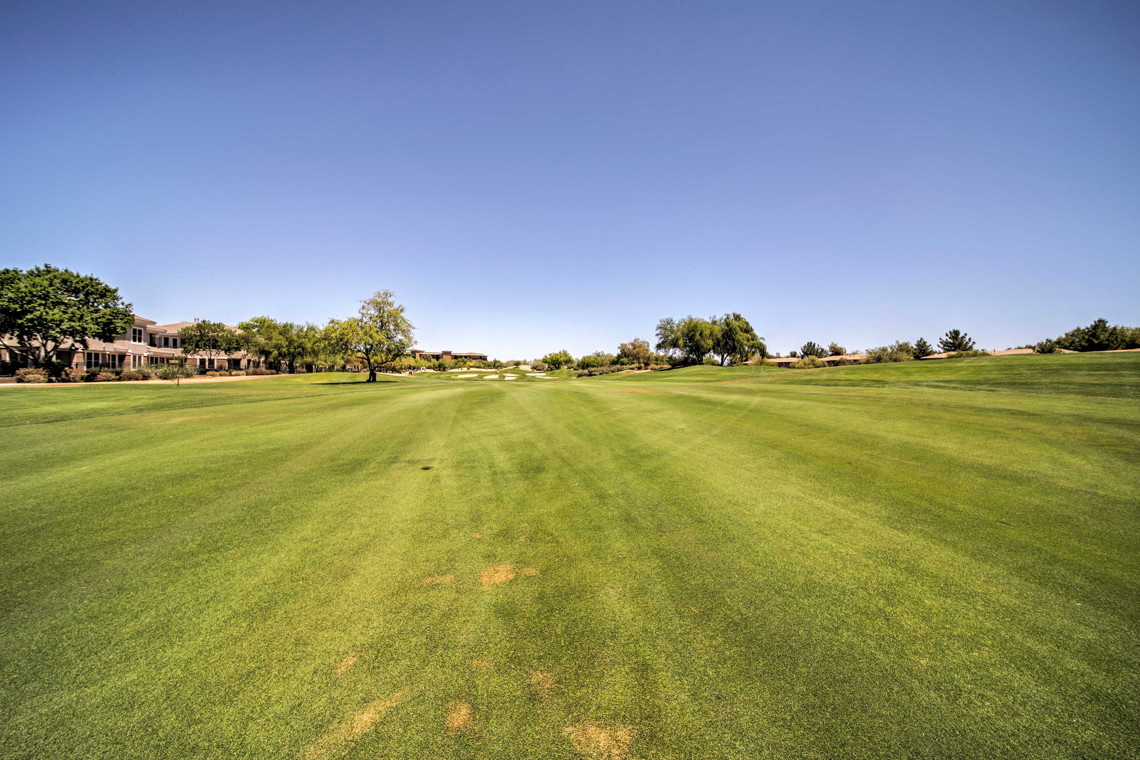 Channel your inner Tiger Woods at Westin Kierland Golf Club.