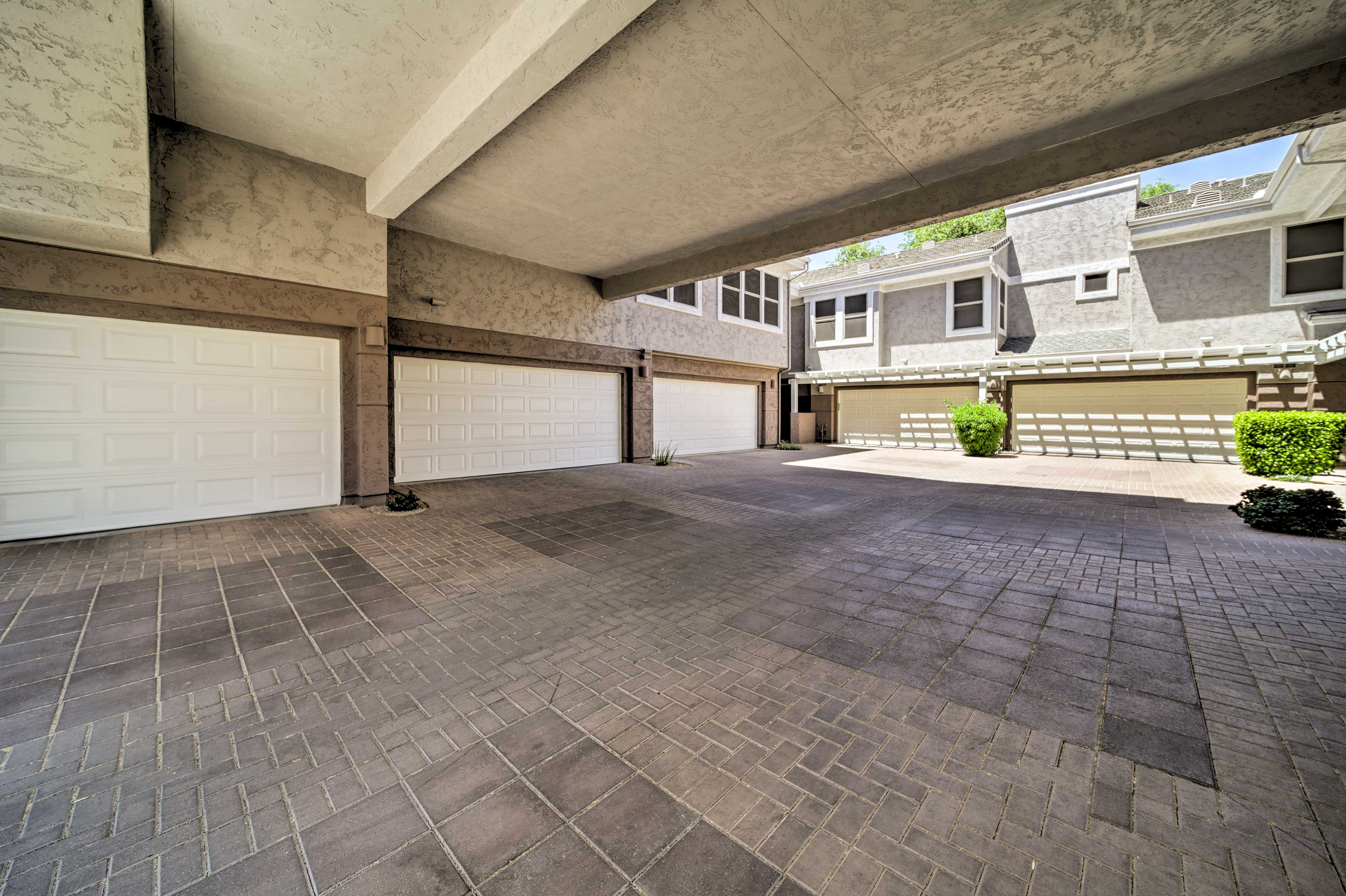 This lavish home even offers a private 2 car garage.