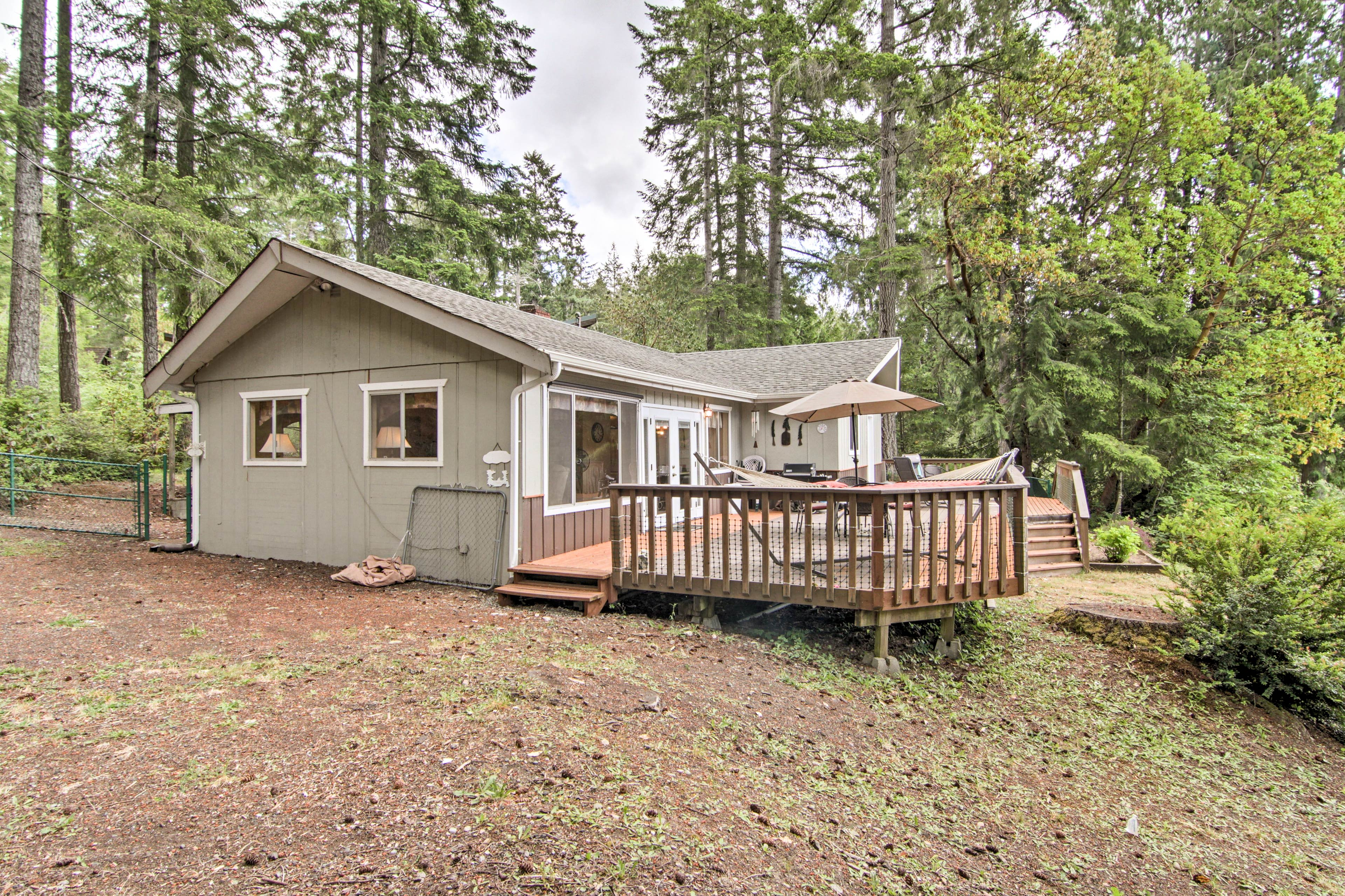Book your forever home-away-from-home on Mason Lake.