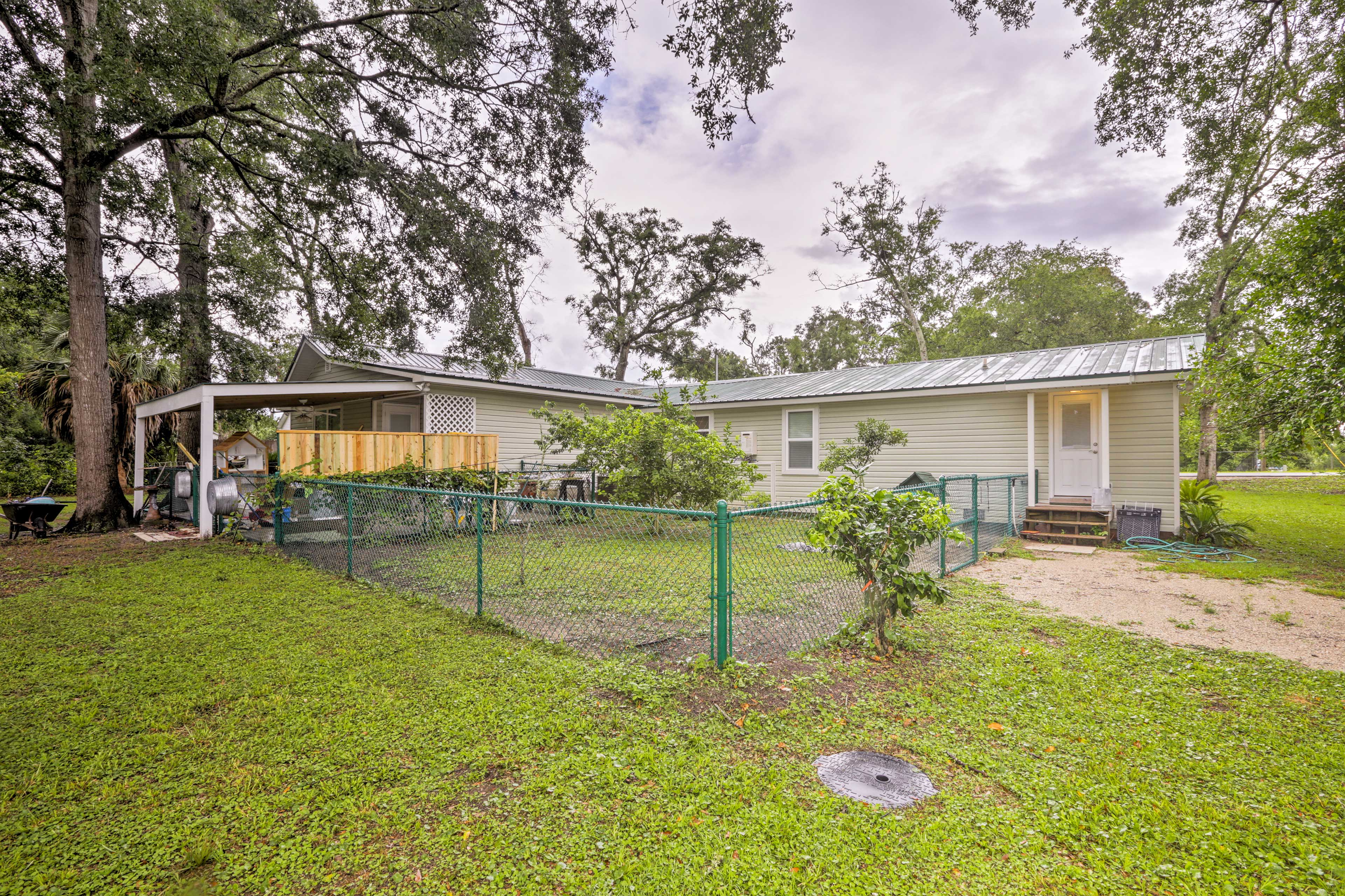 This property is pet-friendly and has a large yard for them to run and play.